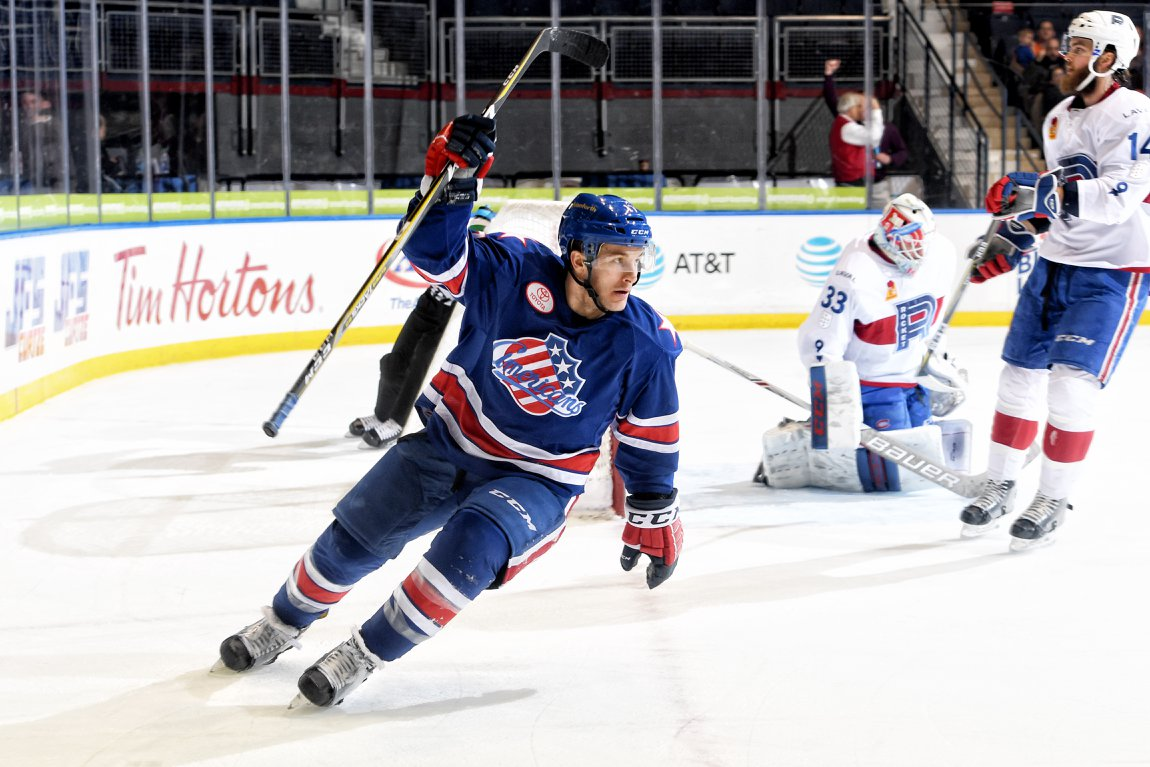 Amerks Finally Get Back to Back Wins