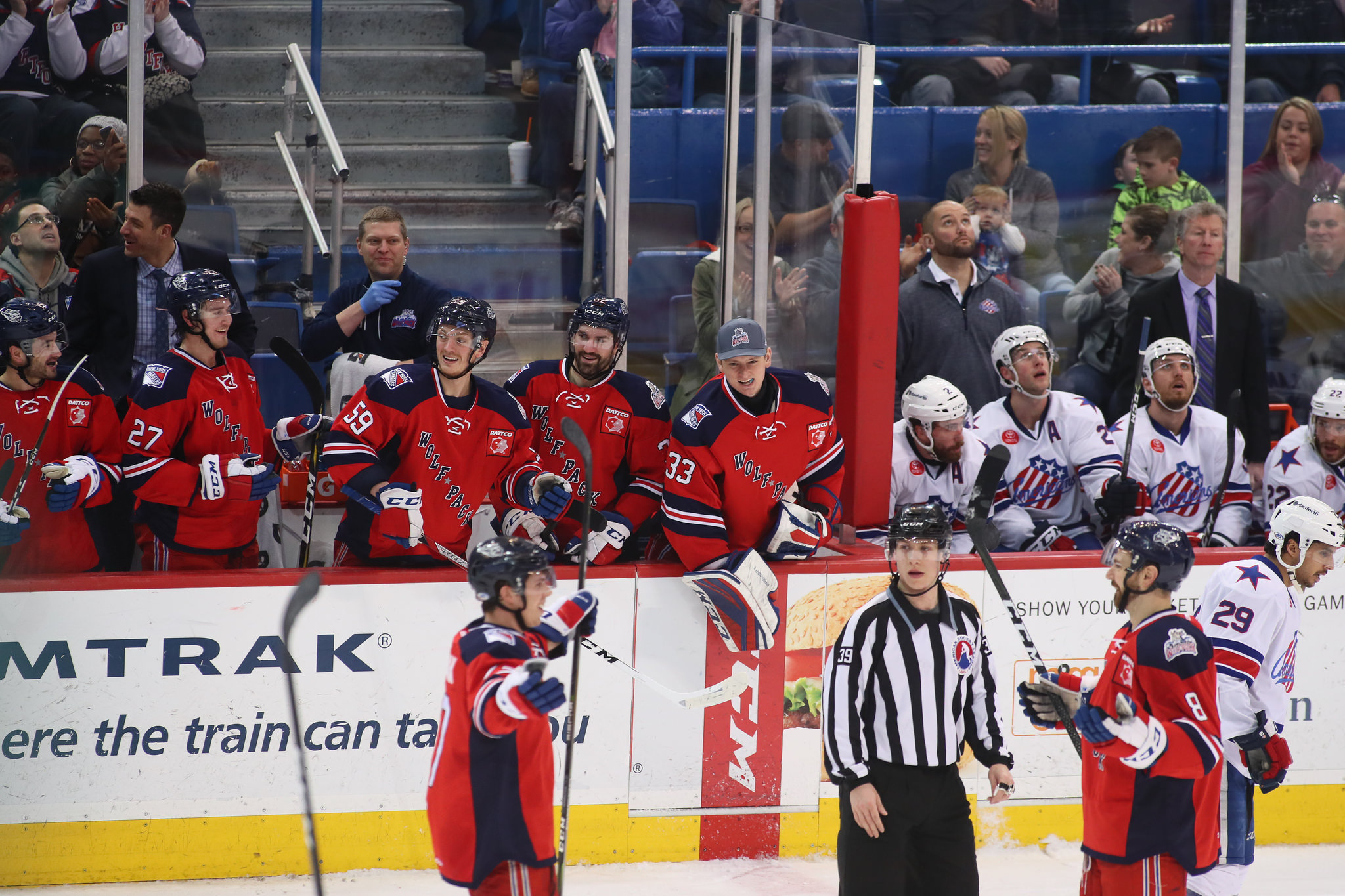 A Few Bad Bounces and Amerks Lose Third Straight