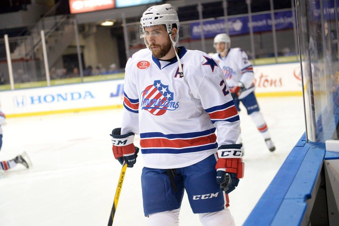Amerks are Bringing Back MacWilliam and Atwal