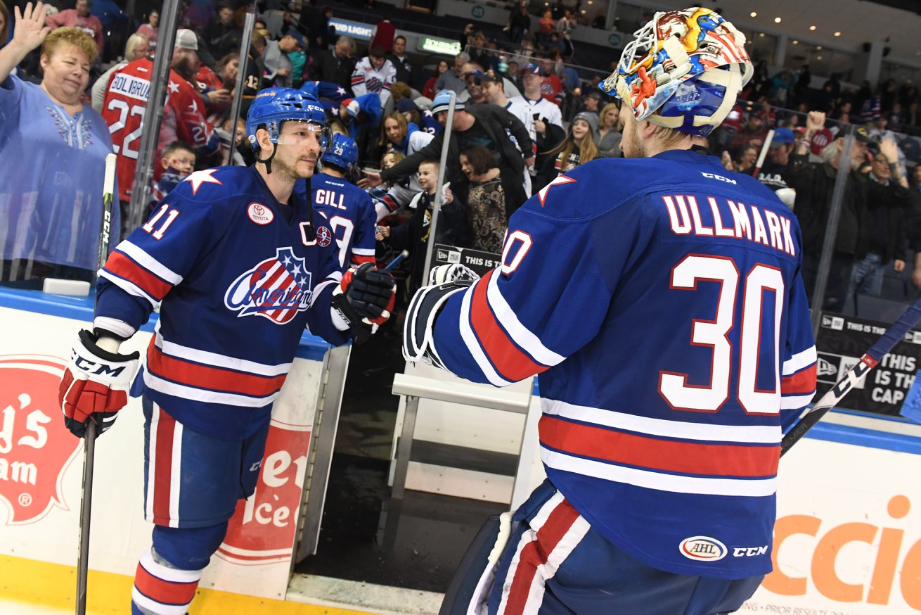 Zero Playoff Wins – Amerks Season is Over