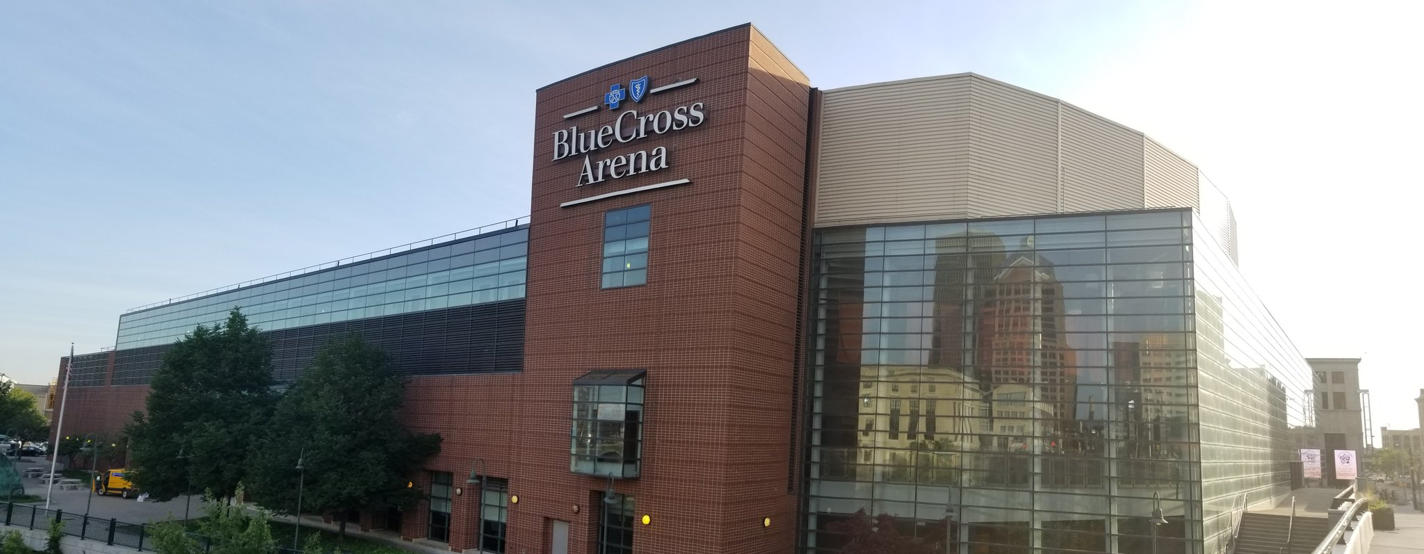New Blue Cross Arena Building Policies