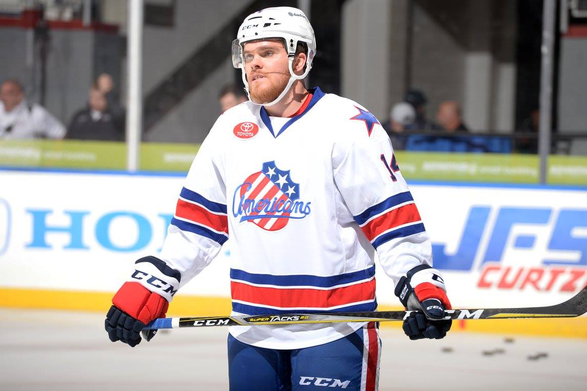 Sean Malone Returns to the Amerks Lineup Tonight
