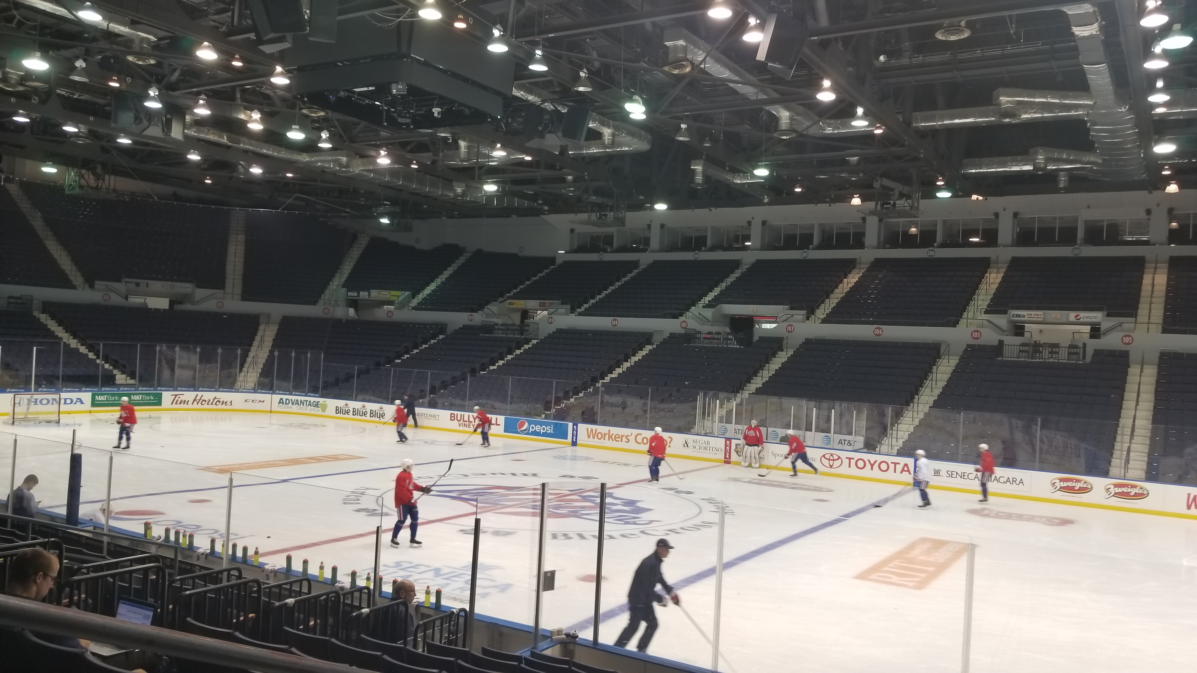 Amerks Weekend at Home and Internal Competition