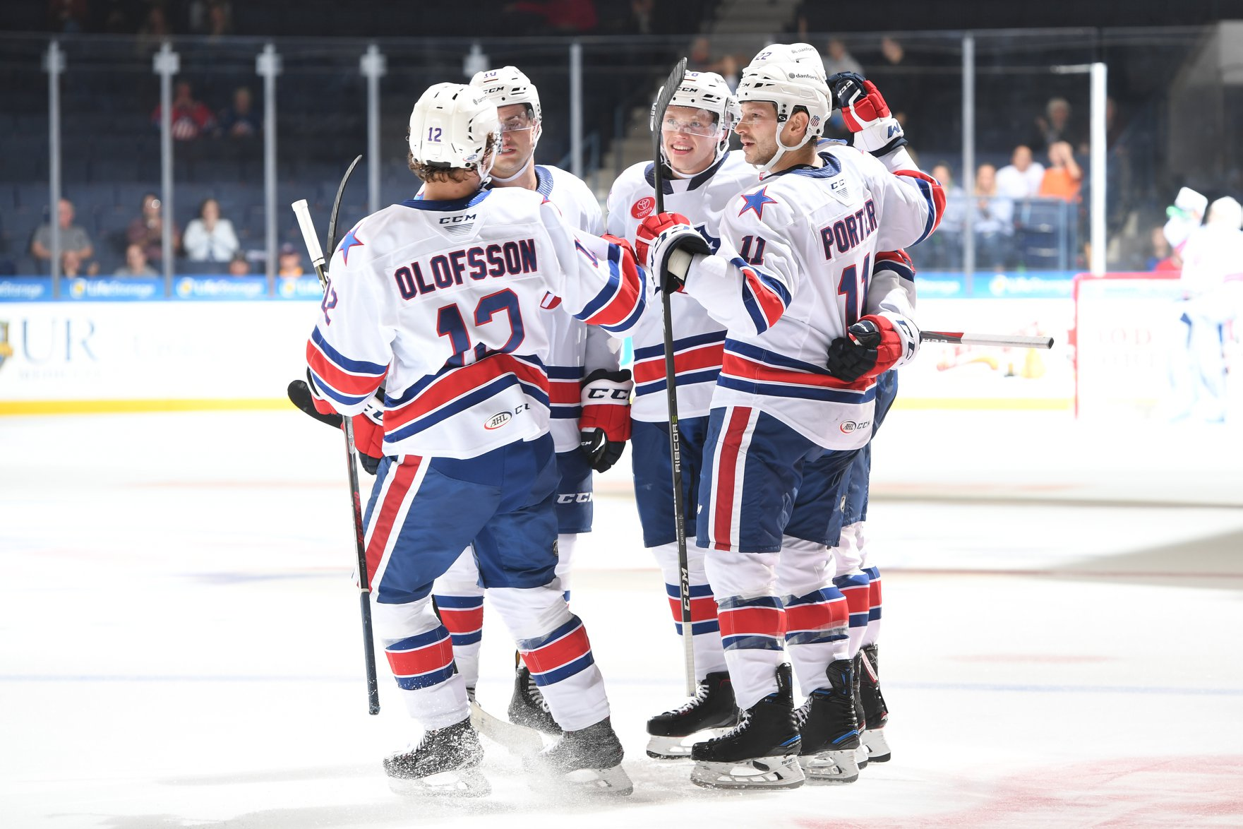 Amerks Score Six in First Win of the Season