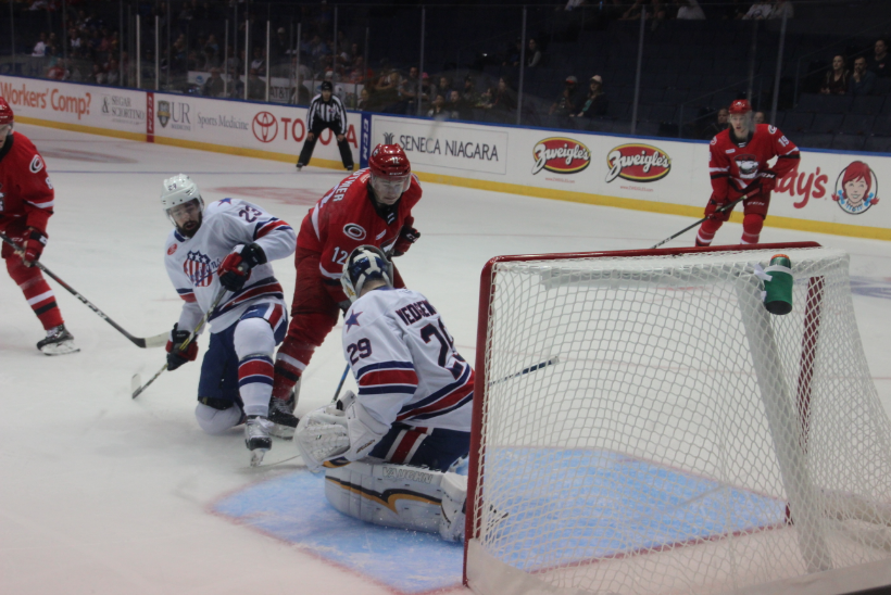 Special Teams Sink the Amerks in Second Loss