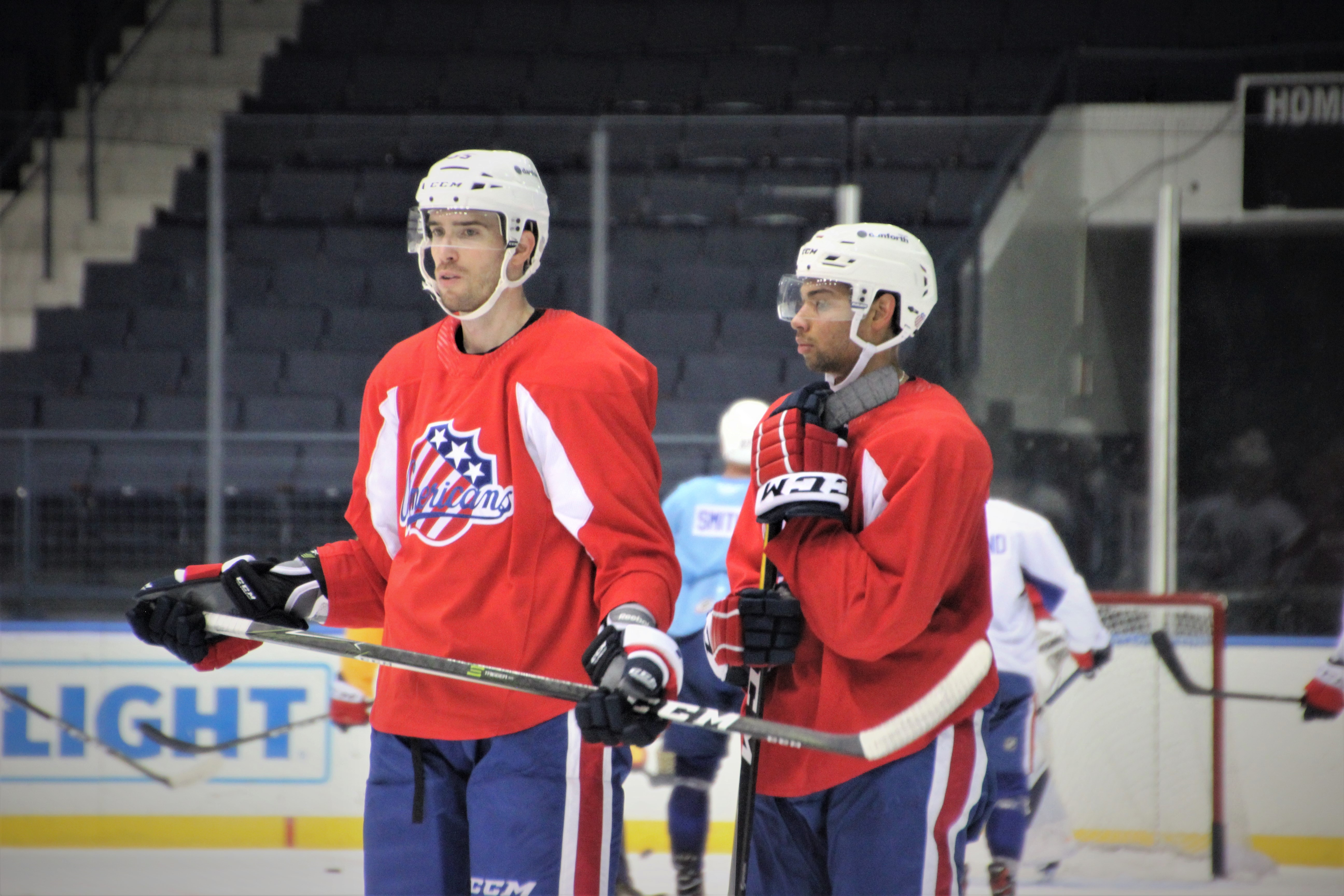Amerks Reduce Training Camp Roster by 10