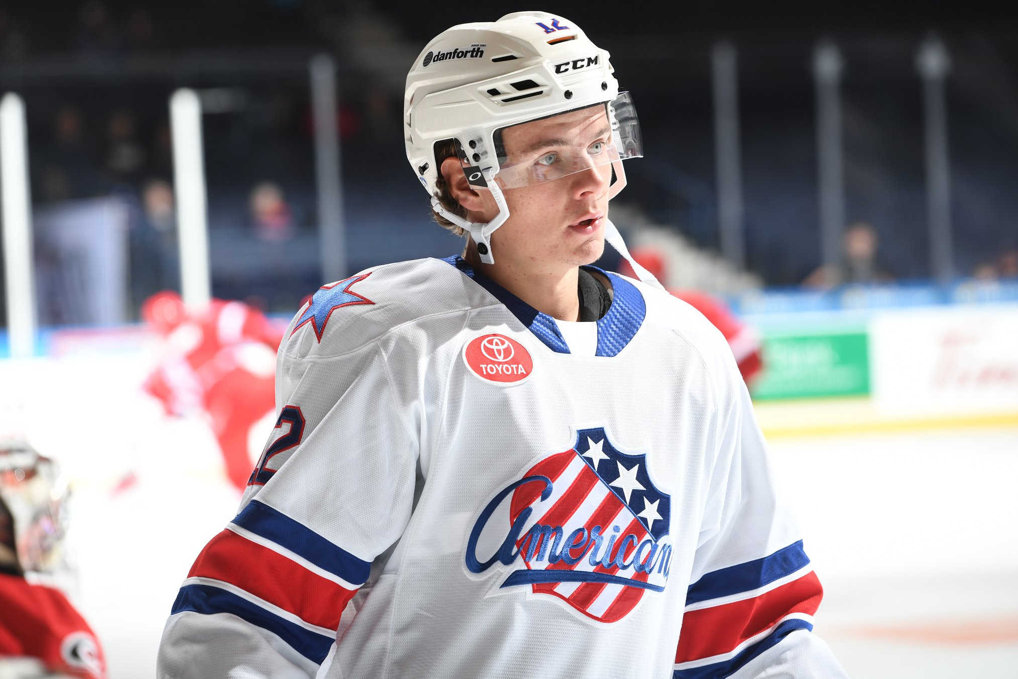 Rookie Victor Olofsson is Leading the Amerks in October
