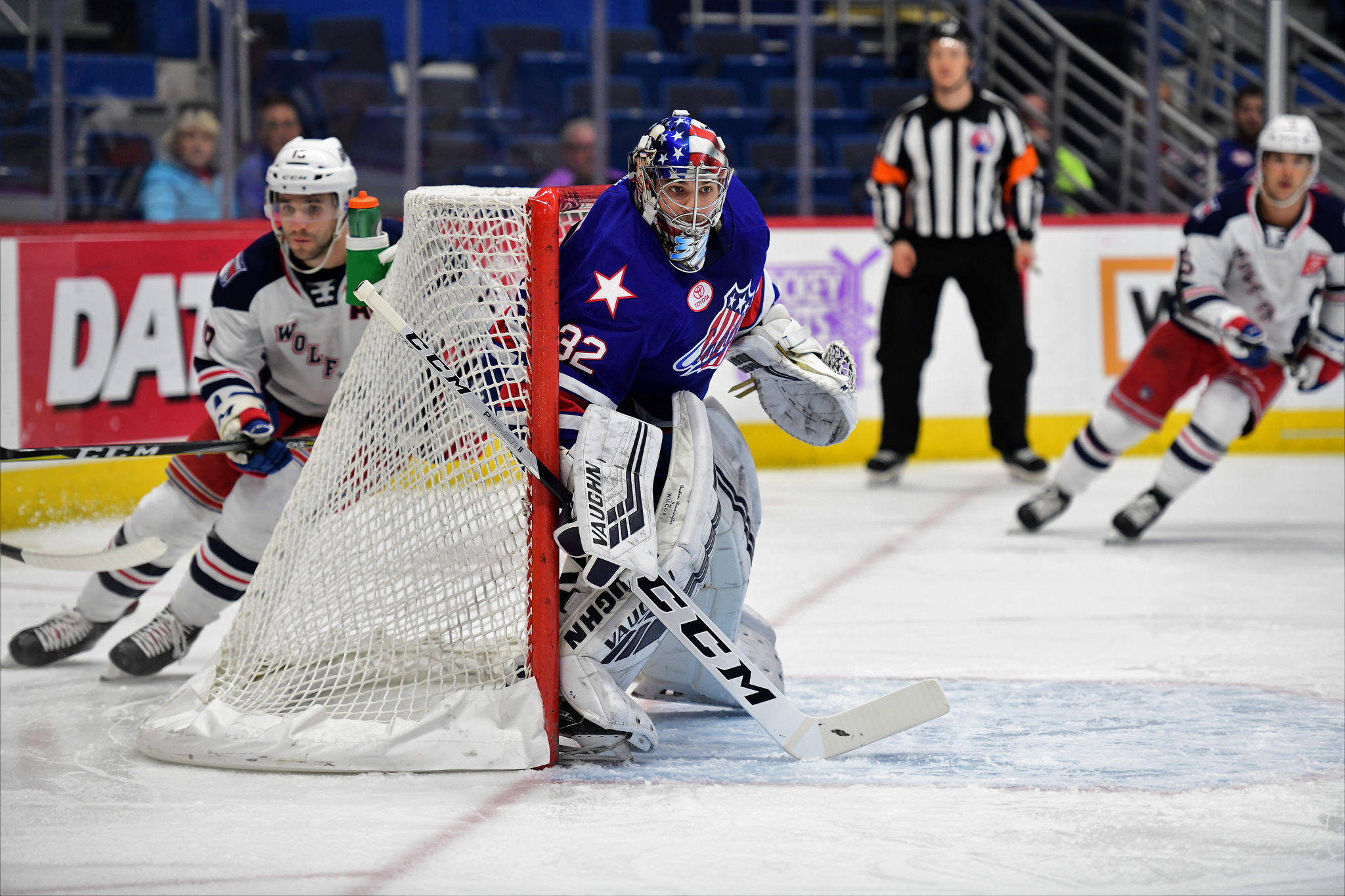 Three Third Period Goals Carried Amerks to a Comeback Win
