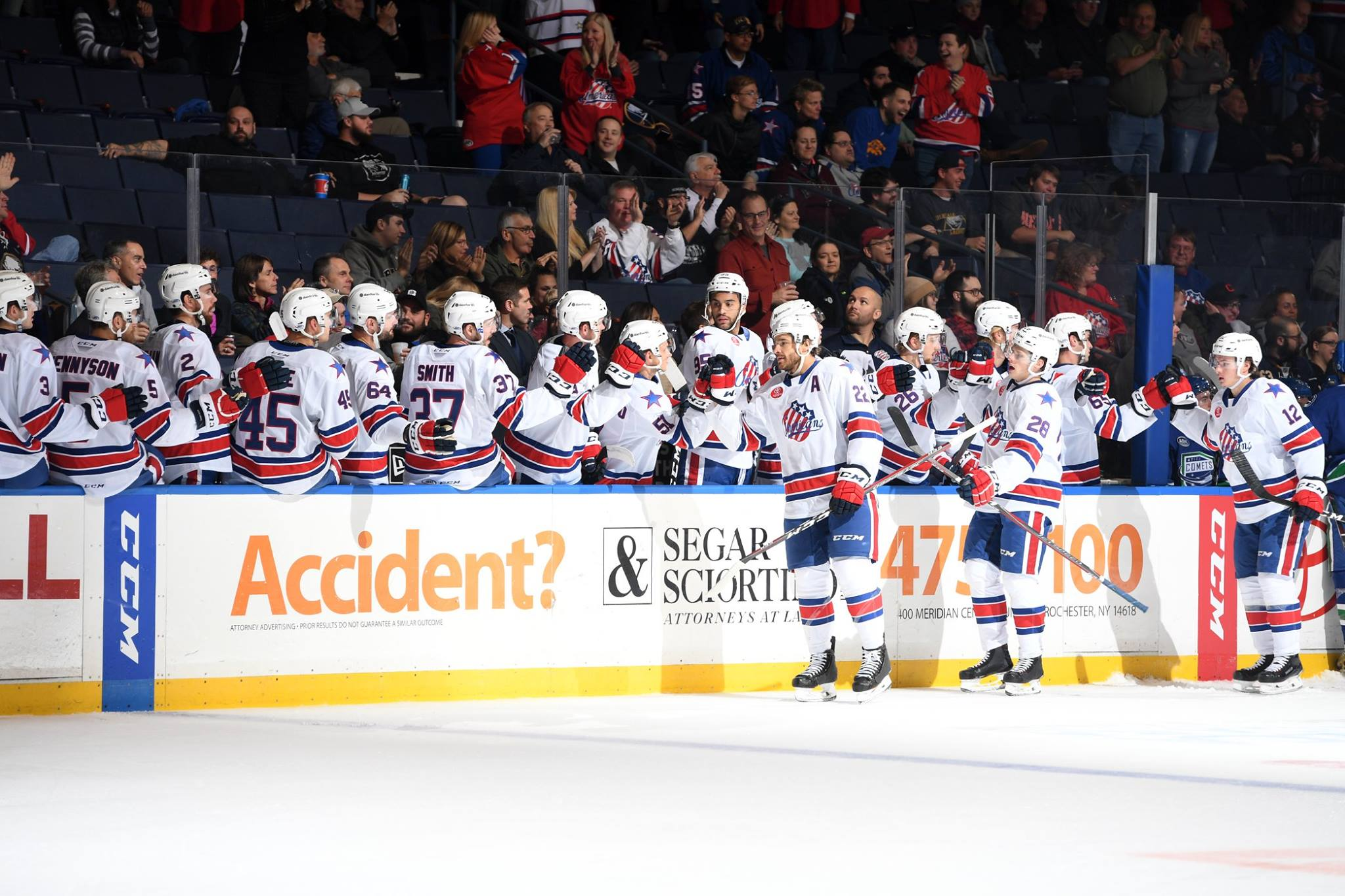 Recap of 2018-2019 Amerks Regular Season Stats