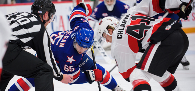 Amerks Win Streak Halted in 5-4 Overtime Loss to B-Sens