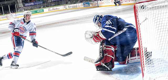 Amerks Top Marlies in Shootout for Fifth Straight Win