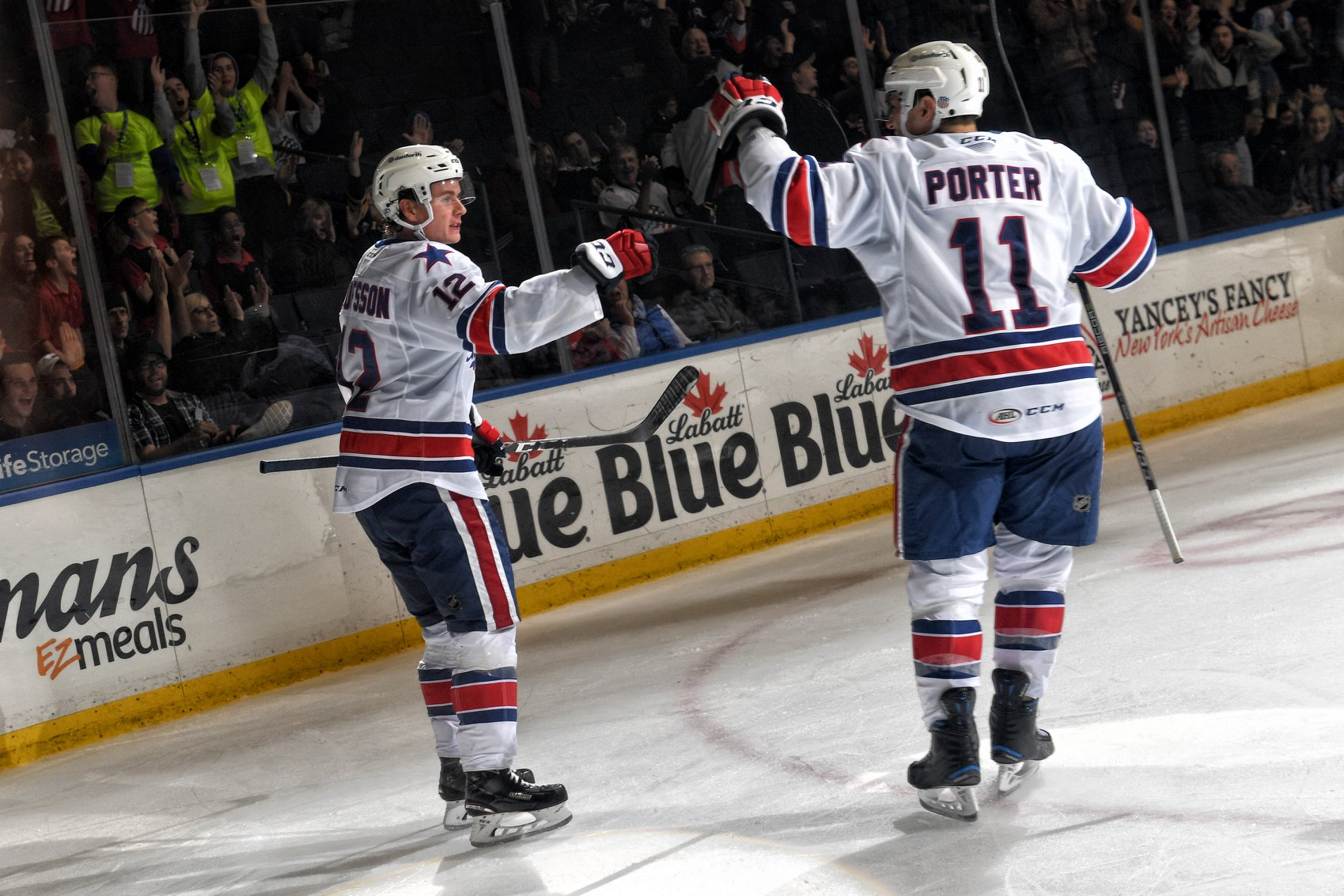 Poor First Period Ends the Amerks Point Streak