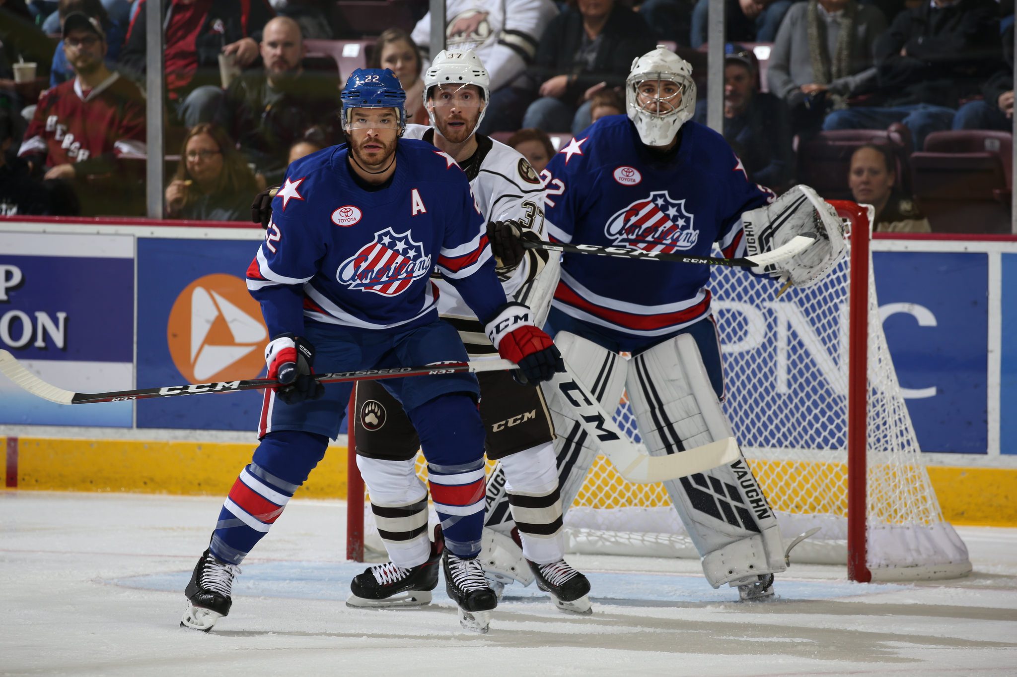 Redmond Scores Twice in Amerks Win