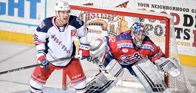 Amerks Head into Christmas Break with 5-1 Loss to Hartford