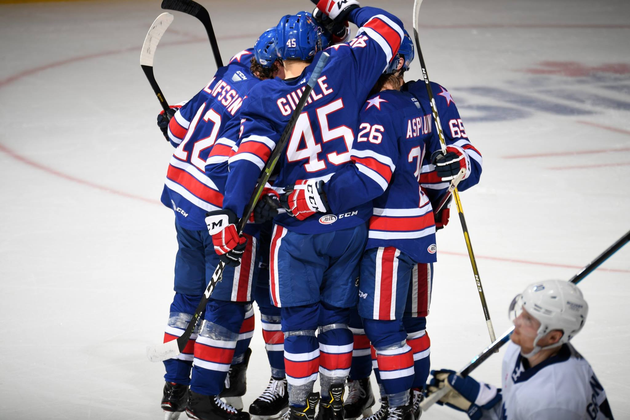 Amerks Split the Weekend vs Toronto and Utica