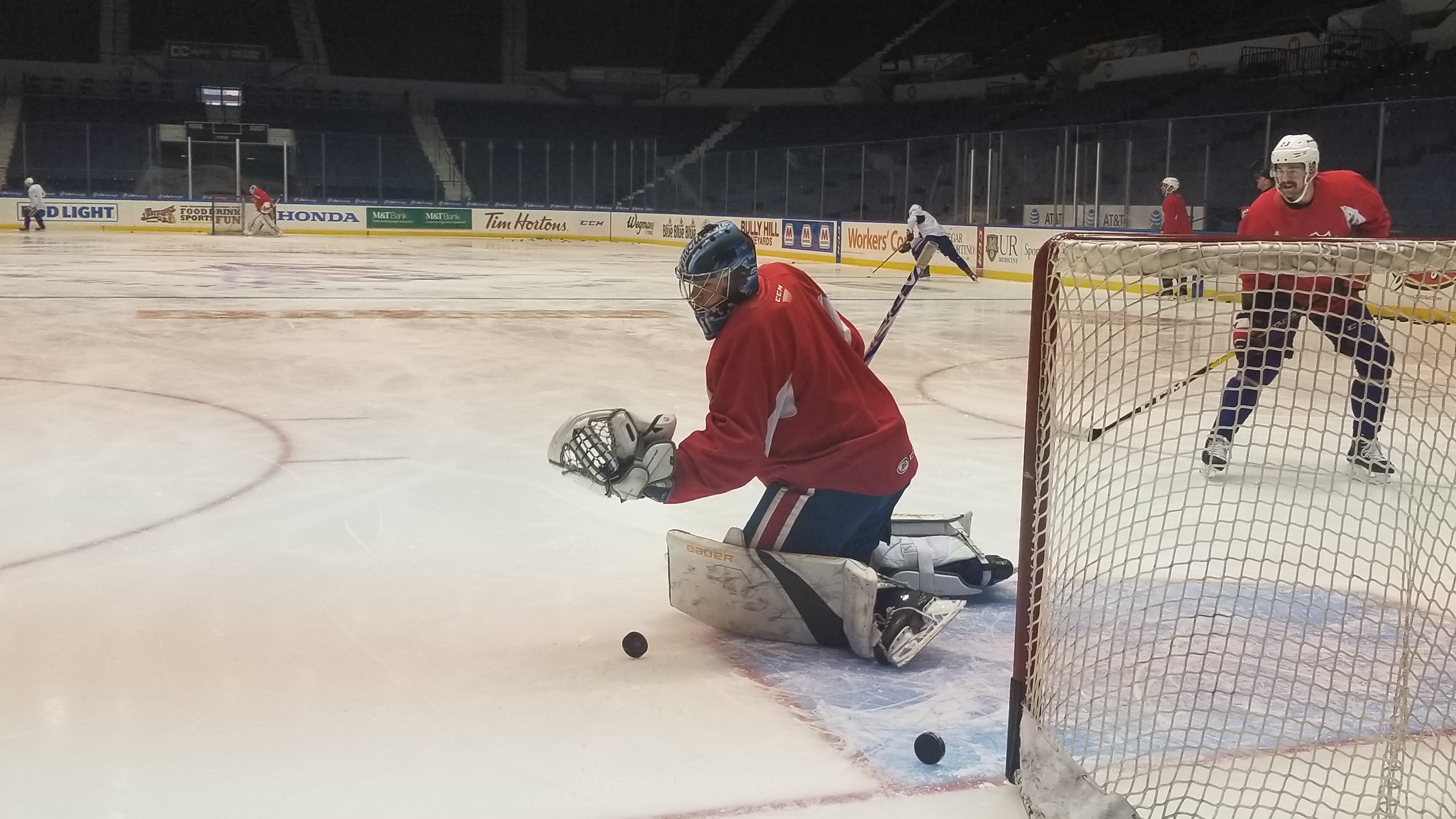 Amerks Addressing the Details; Jonas Johansson Called Up