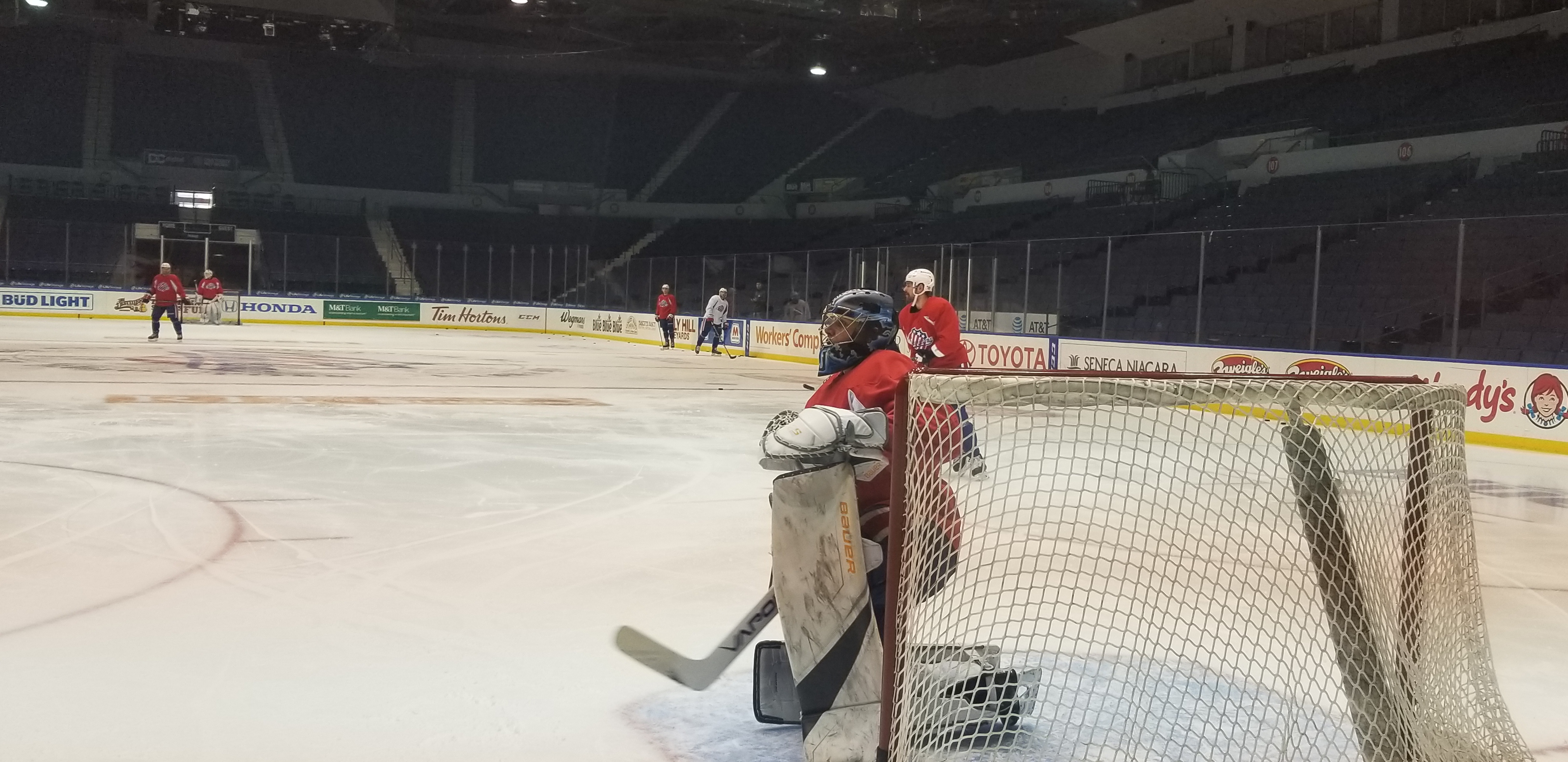 Team Meeting and Three Wins Later Amerks are Looking to Separate Themselves