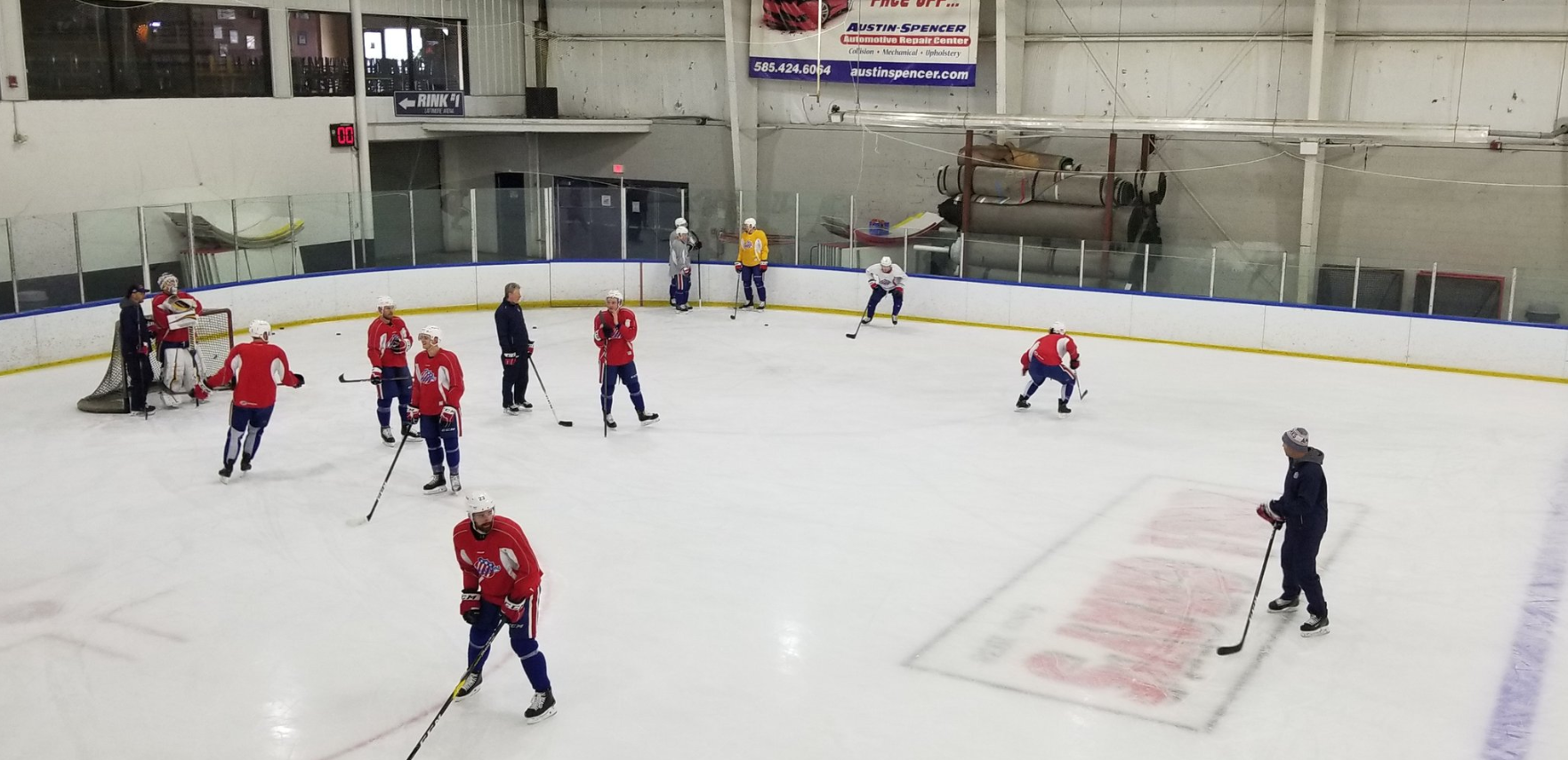 Extended Post with a Mix of Quotes from the Amerks Locker Room