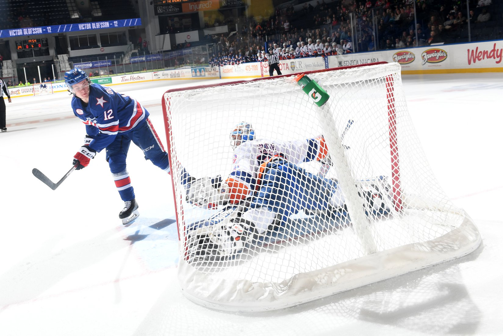 Shootout Goal by Olofsson Completes Comeback Win