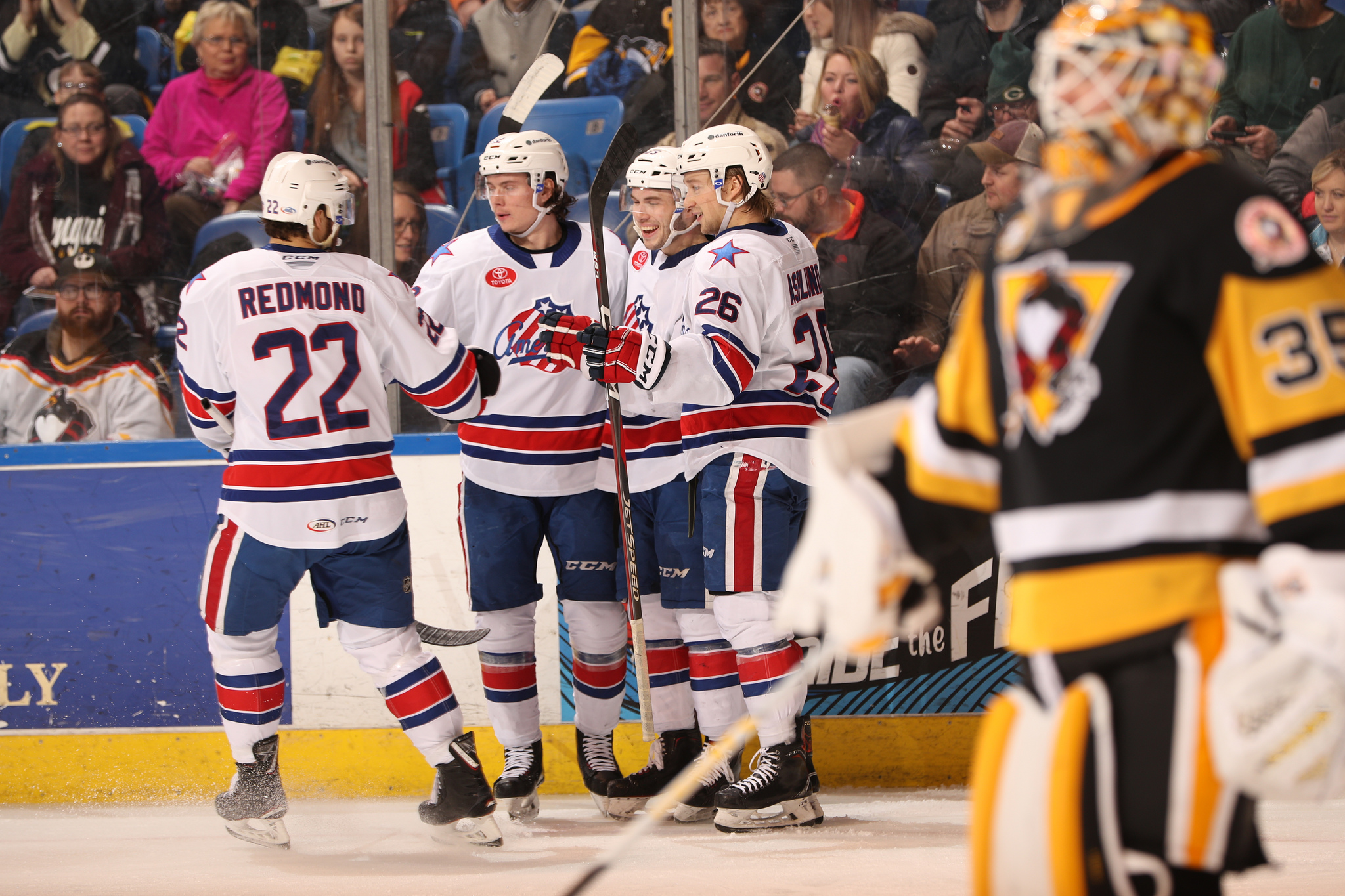 Zach Redmond Ties a Franchise Record in Amerks Win