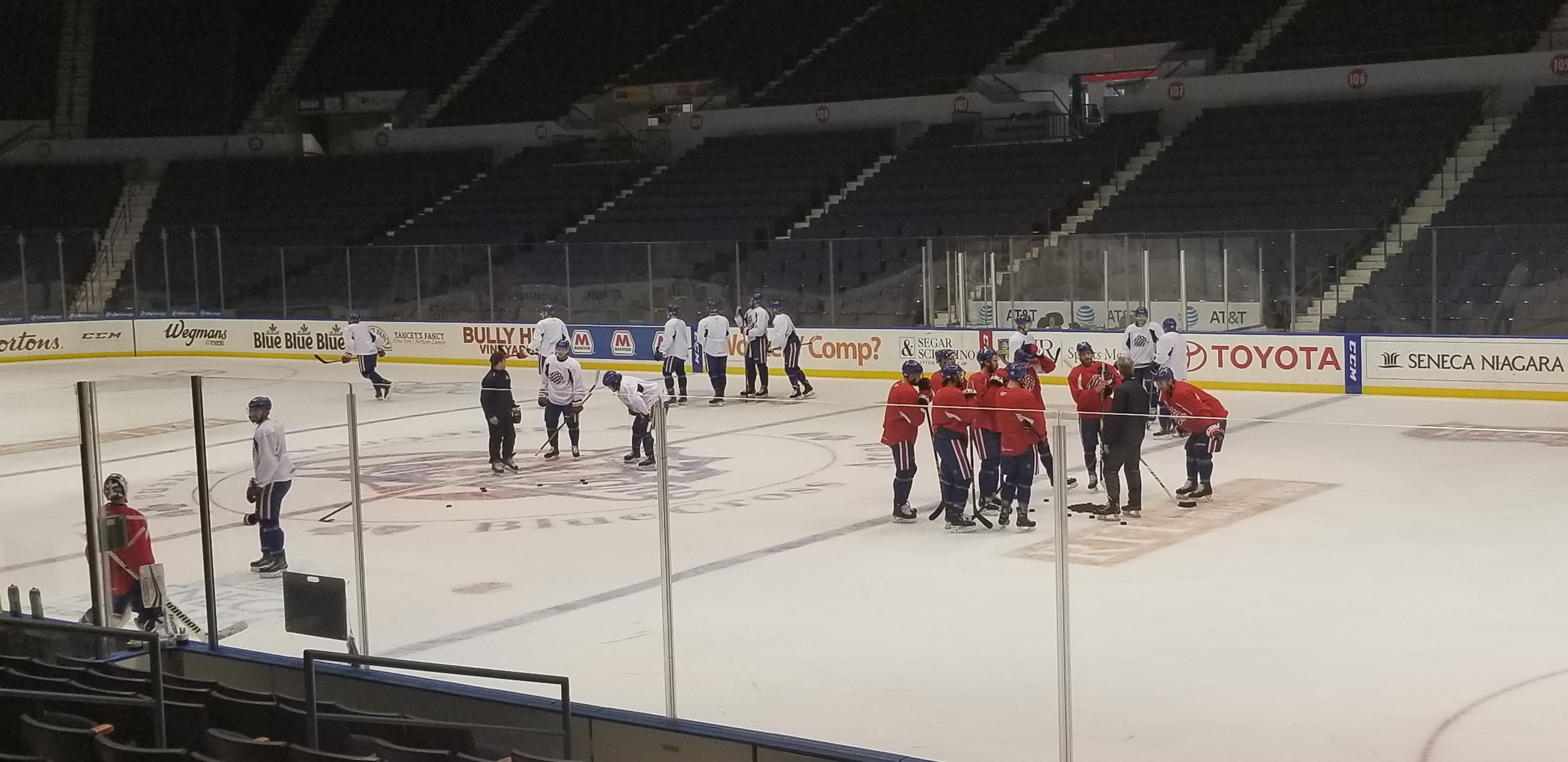 Amerks Host Sound Tigers Tonight, Nylander Will Play