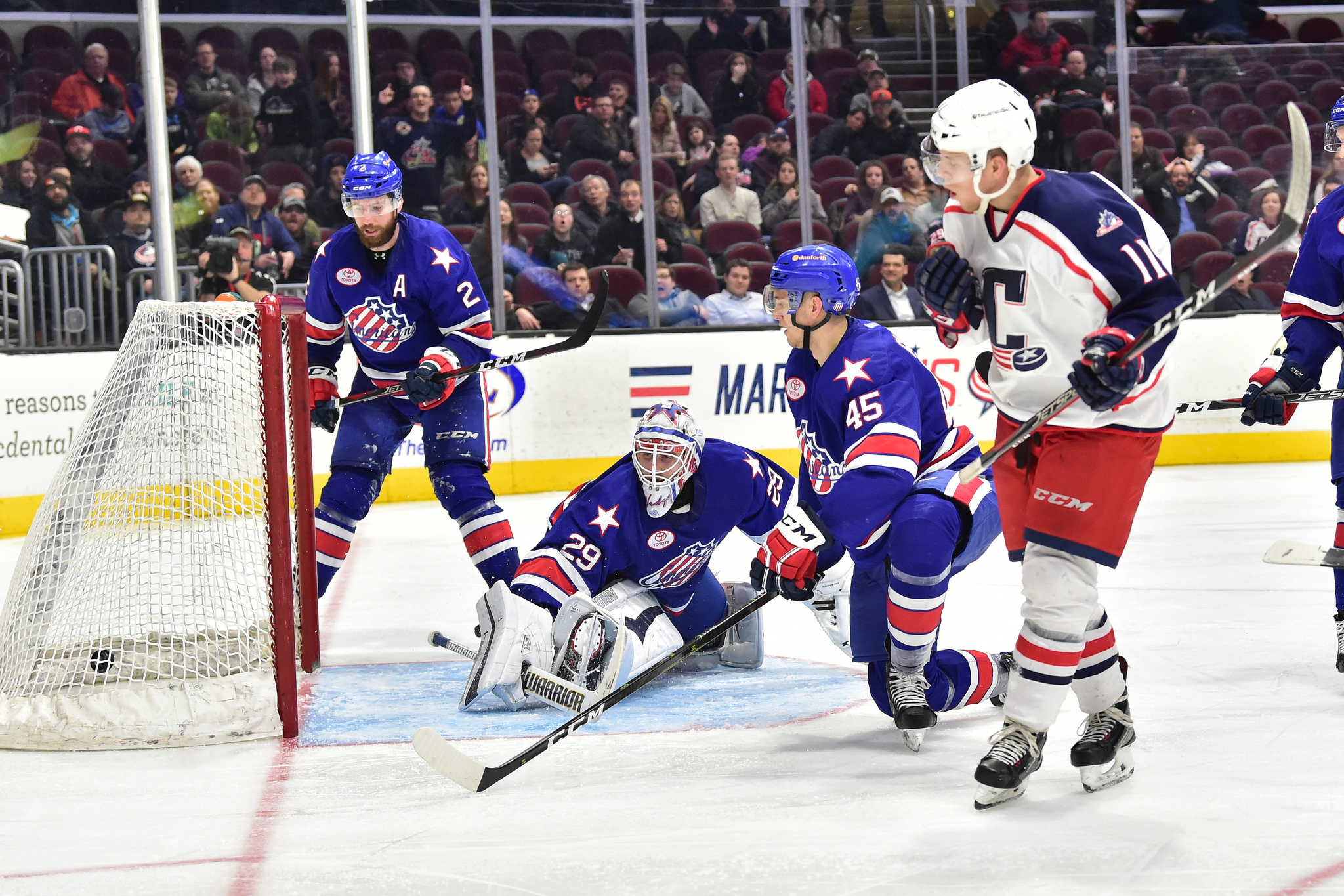 Amerks Give Up 5 for the Second Straight Game
