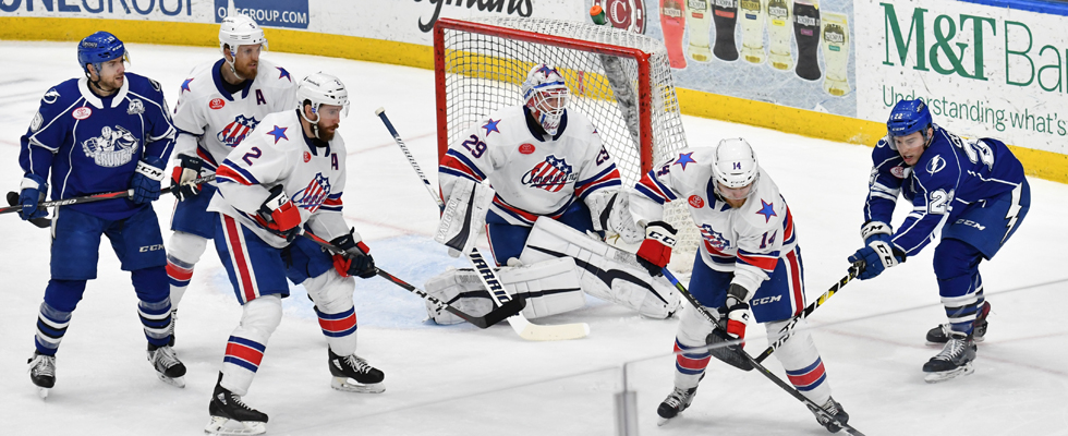 Amerks Score Five in a Road Win at Syracuse