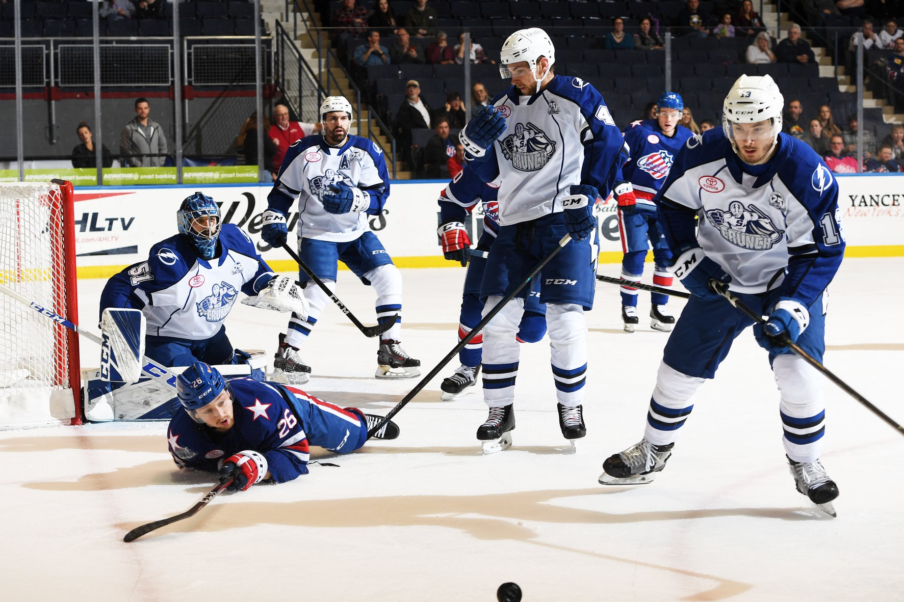 Crunch Power Play Dominates the Amerks