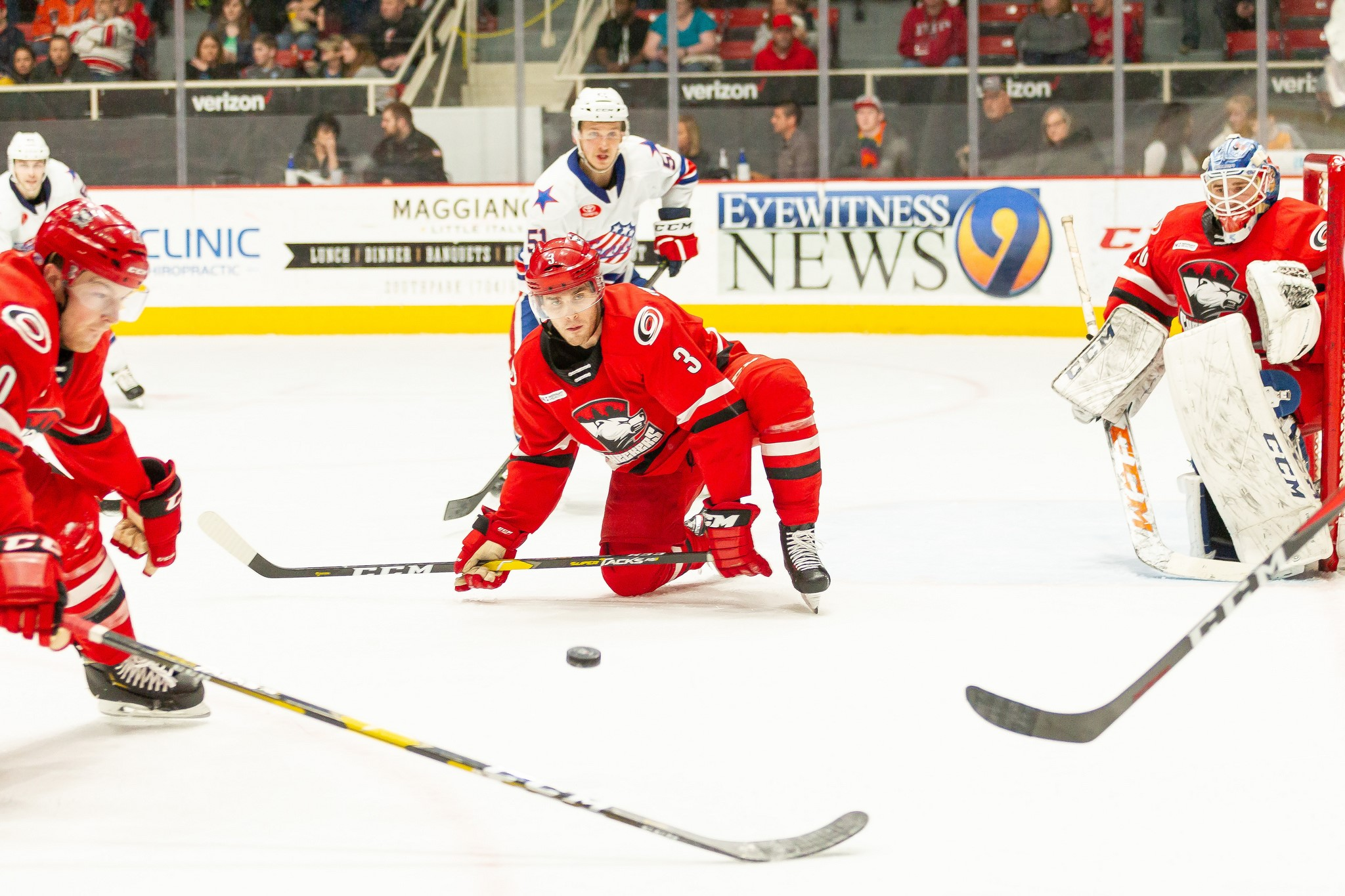 Amerks Lose Second Straight to the Checkers