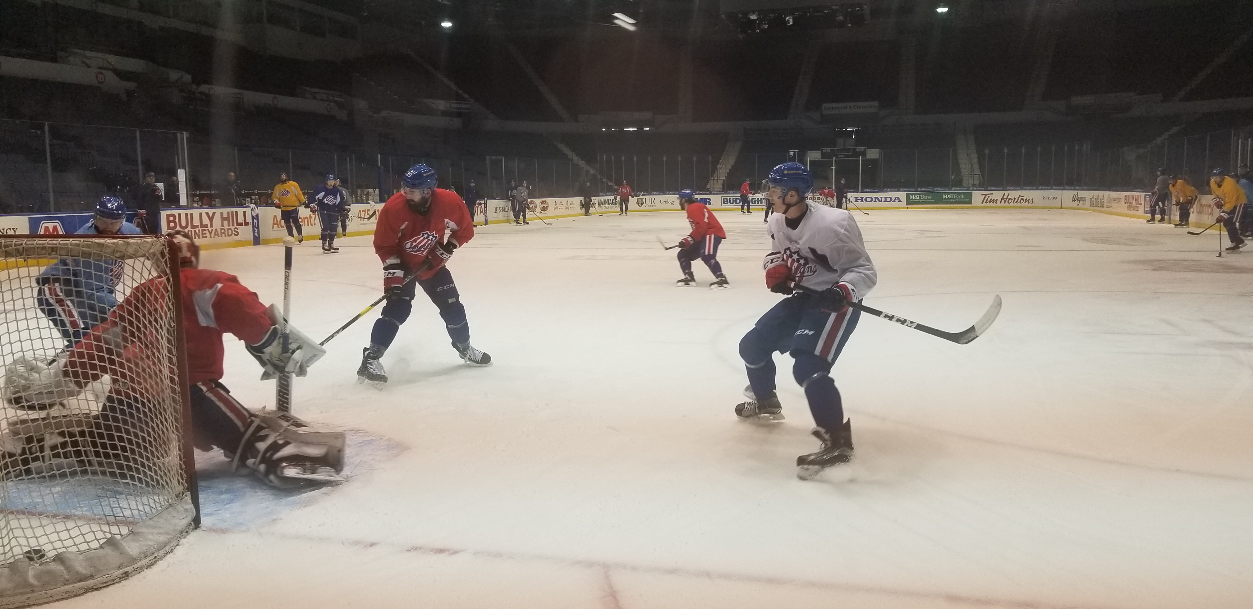 Borgen Called Up and Other Amerks Practice Updates