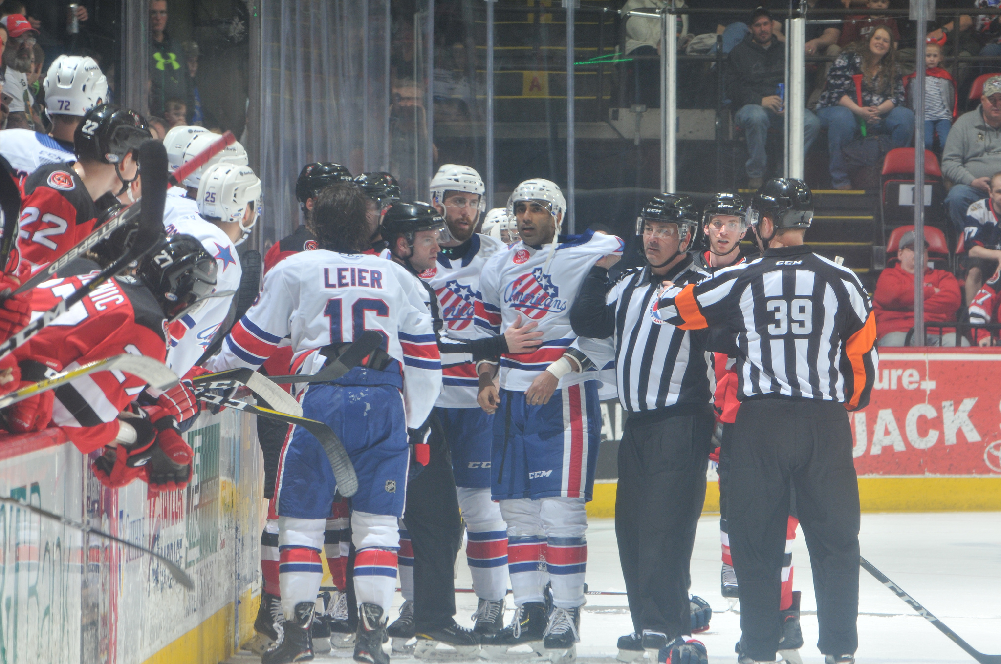 Amerks Punched Their Playoff Ticket with a Comeback Win