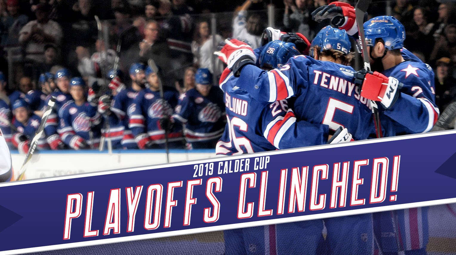 Amerks Clinch a Spot in the 2019 Calder Cup Playoffs