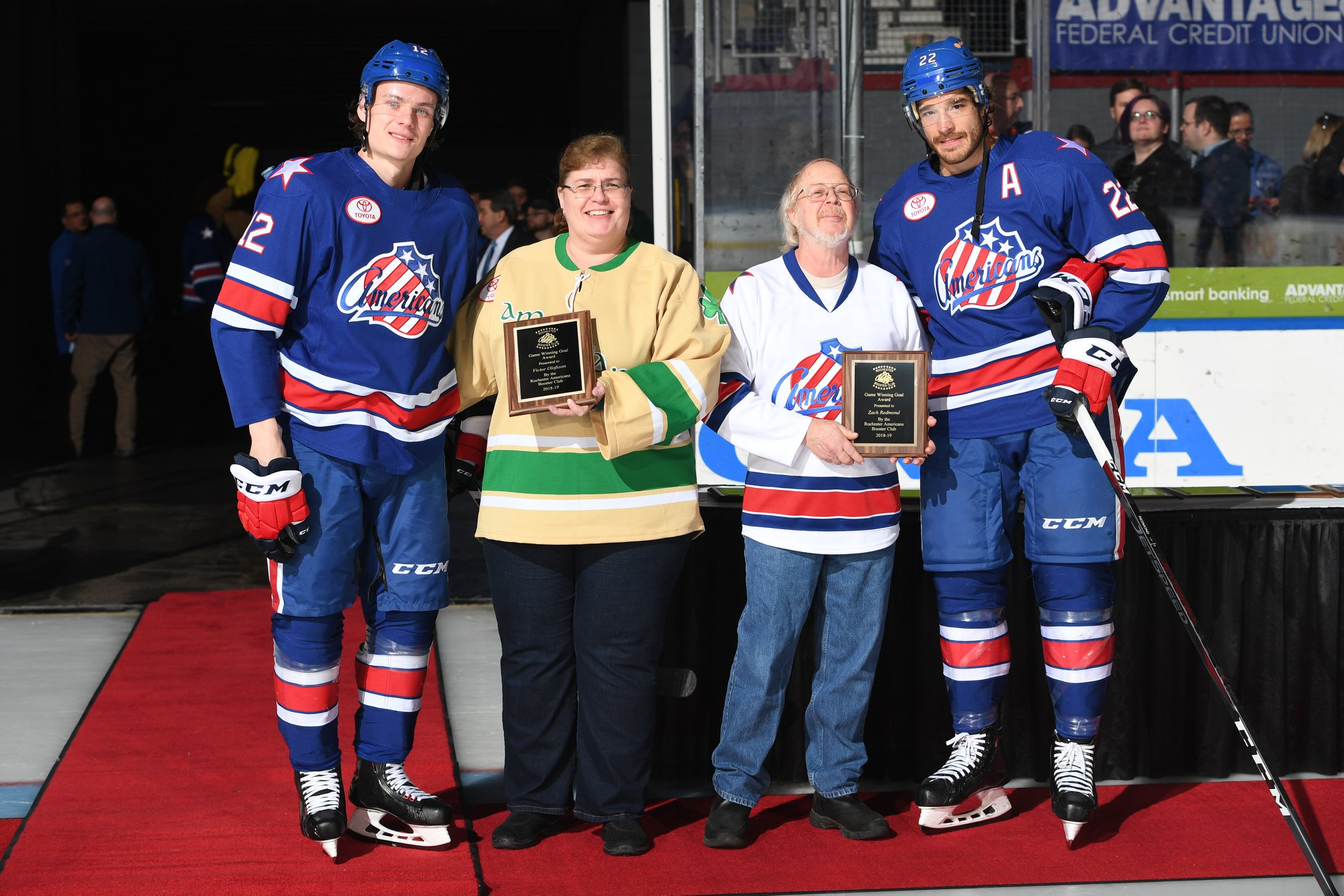 Rochester Americans 2018/2019 Team Awards