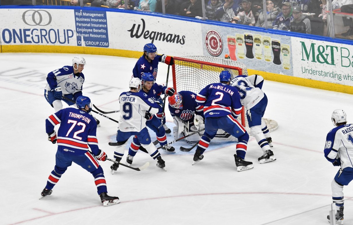 5-2 Bounce Back Win in Syracuse