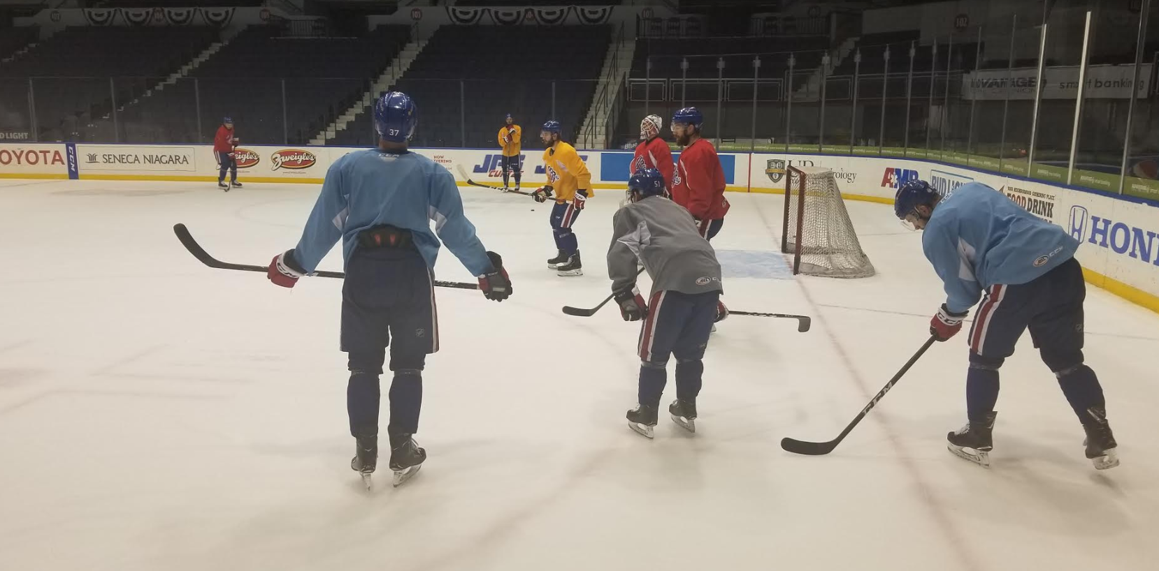 Amerks Know Their Backs are Against the Wall