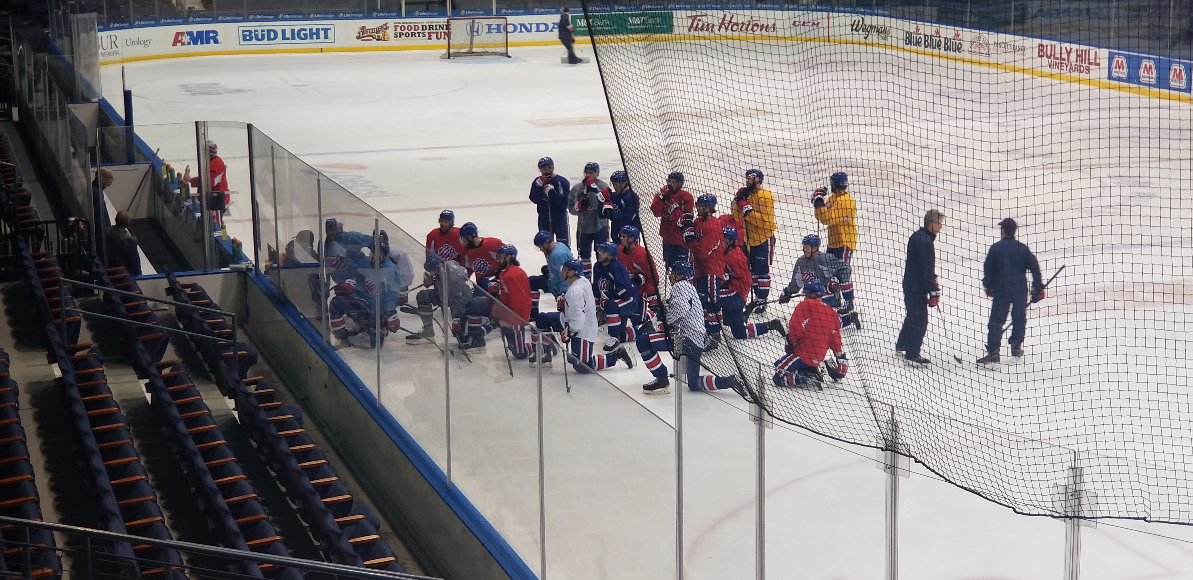 Amerks Practice Report, Updates, and Quotes