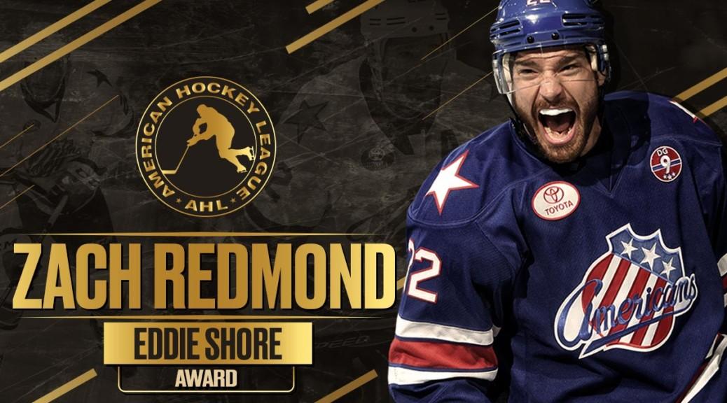 Redmond Earns Eddie Shore Award as Top Defenseman