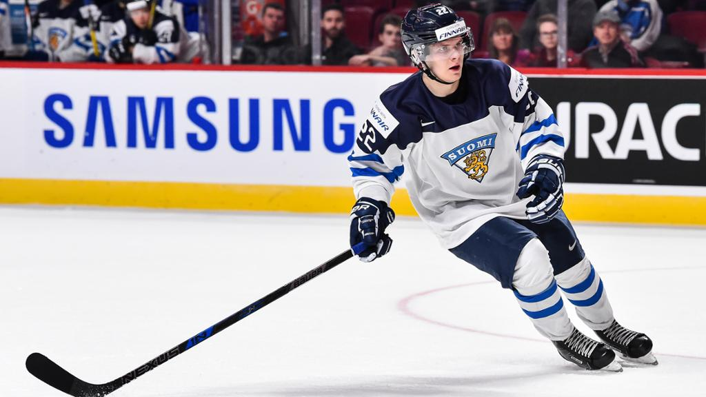Sabres Sign Arttu Ruotsalainen from Finland