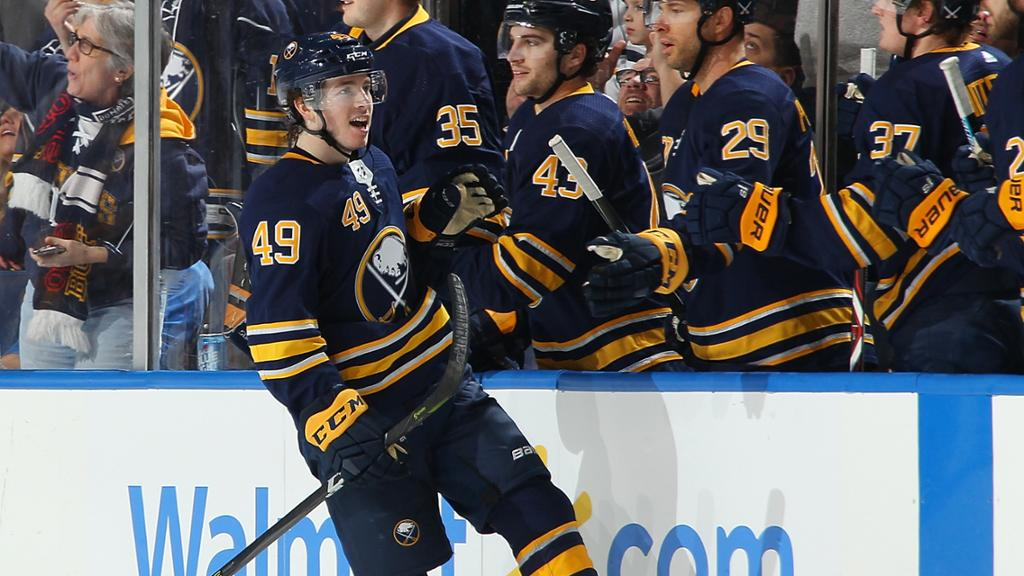 Sabres Re-Sign CJ Smith to a Two-Year Contract