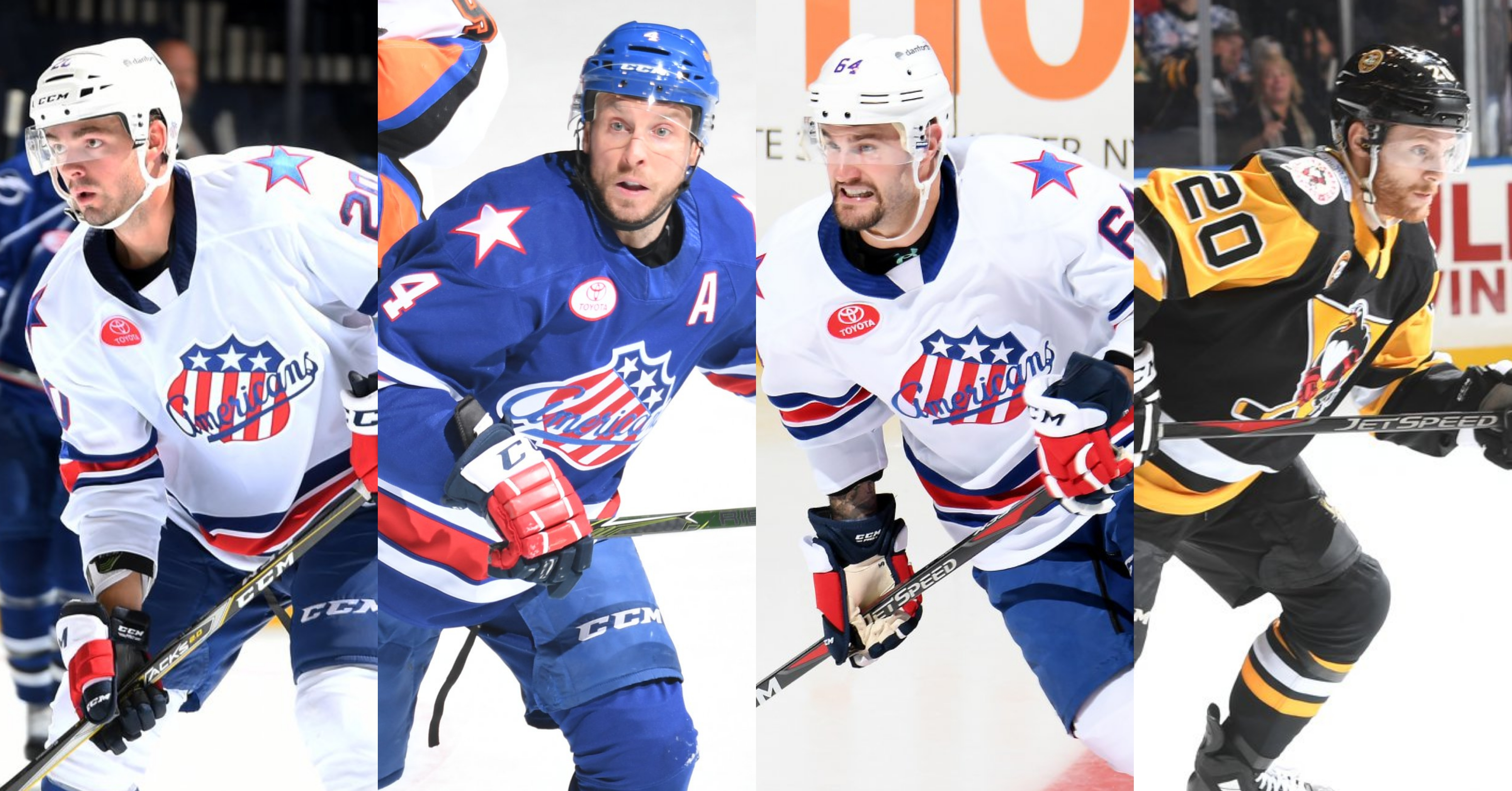 Amerks Signed Four Contracts – Three Returning, One New