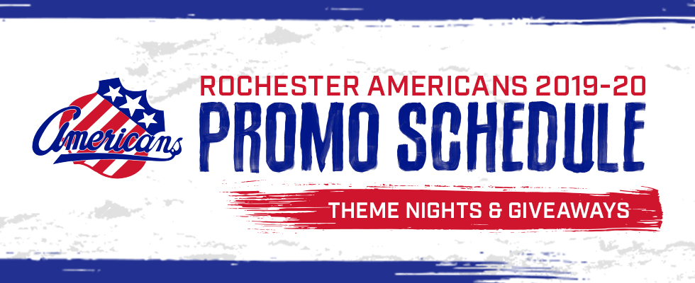 Amerks Announce 2019-2020 Promotion Schedule