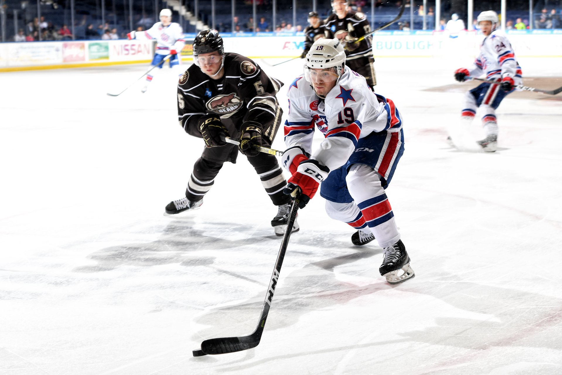 Recap: Five Different Goal Scorers Carry Amerks to a 5-1 Win