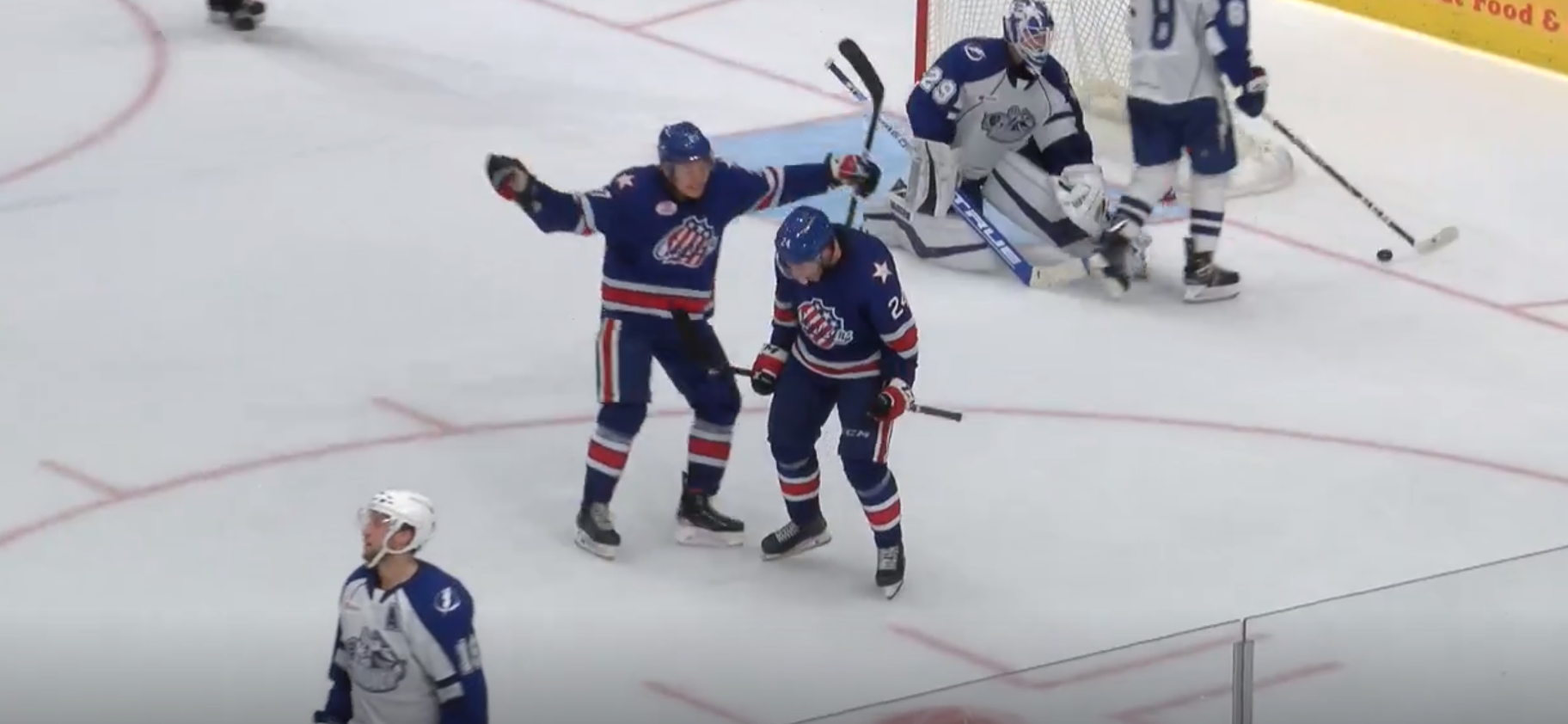 Recap: Pilut Overtime Goal Leads Amerks to a 7-6 Win