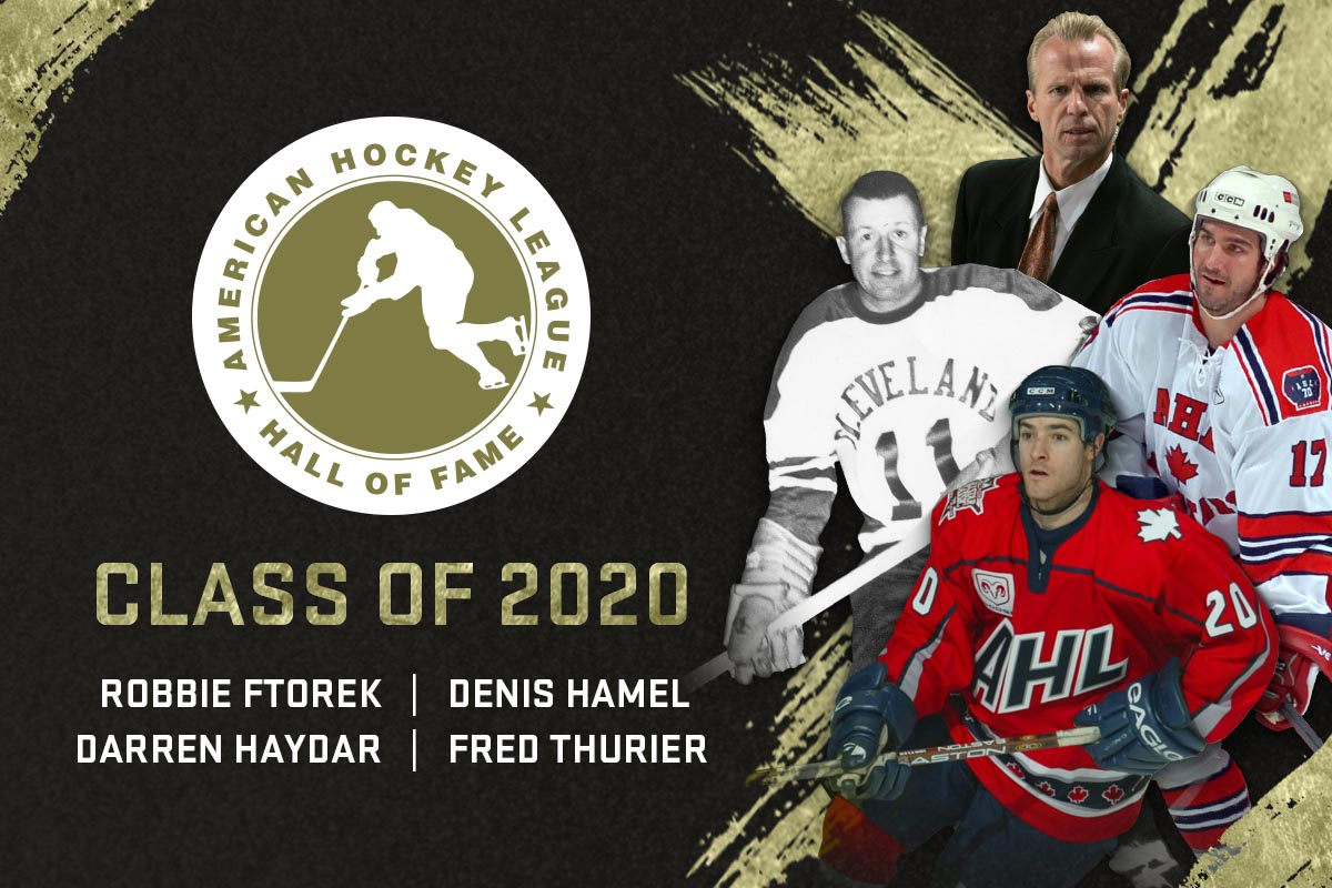 Denis Hamel Joins The AHL Hall of Fame Class of 2020
