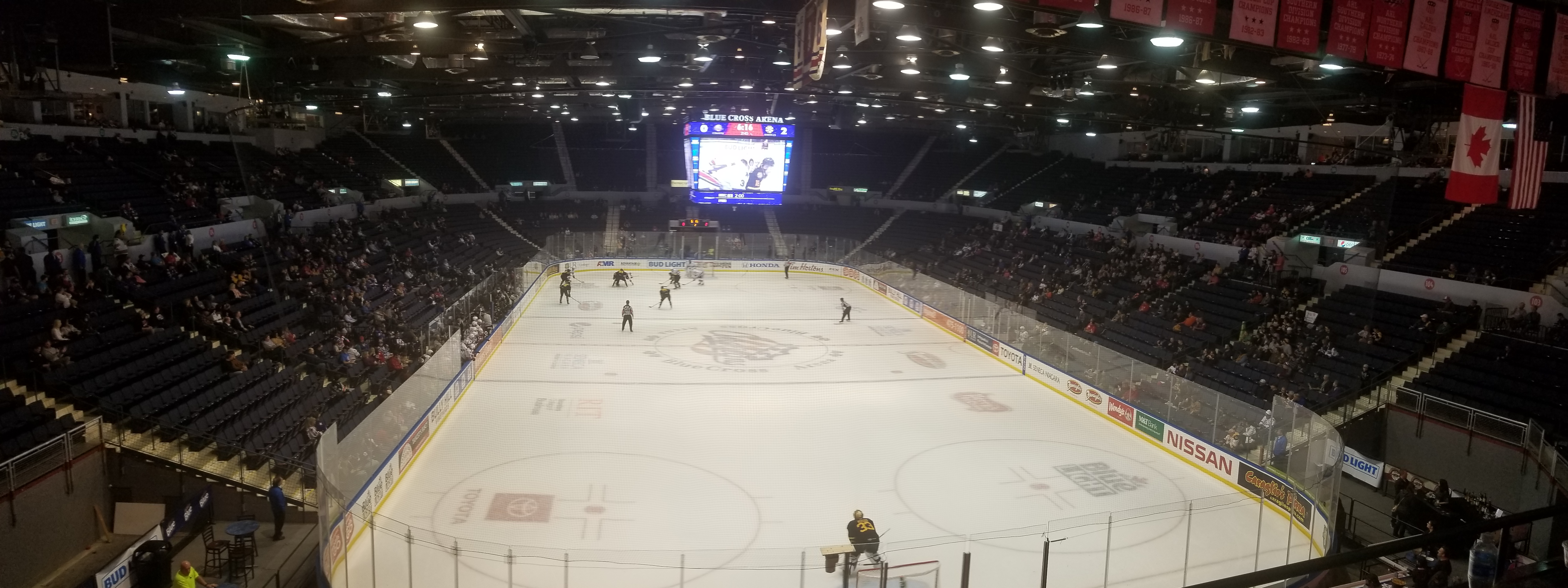 Amerks Home Attendance Numbers Since 2005