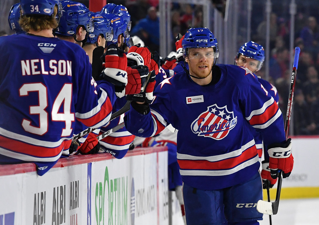 Recap: Amerks Hold off Laval in the Third to Win Again