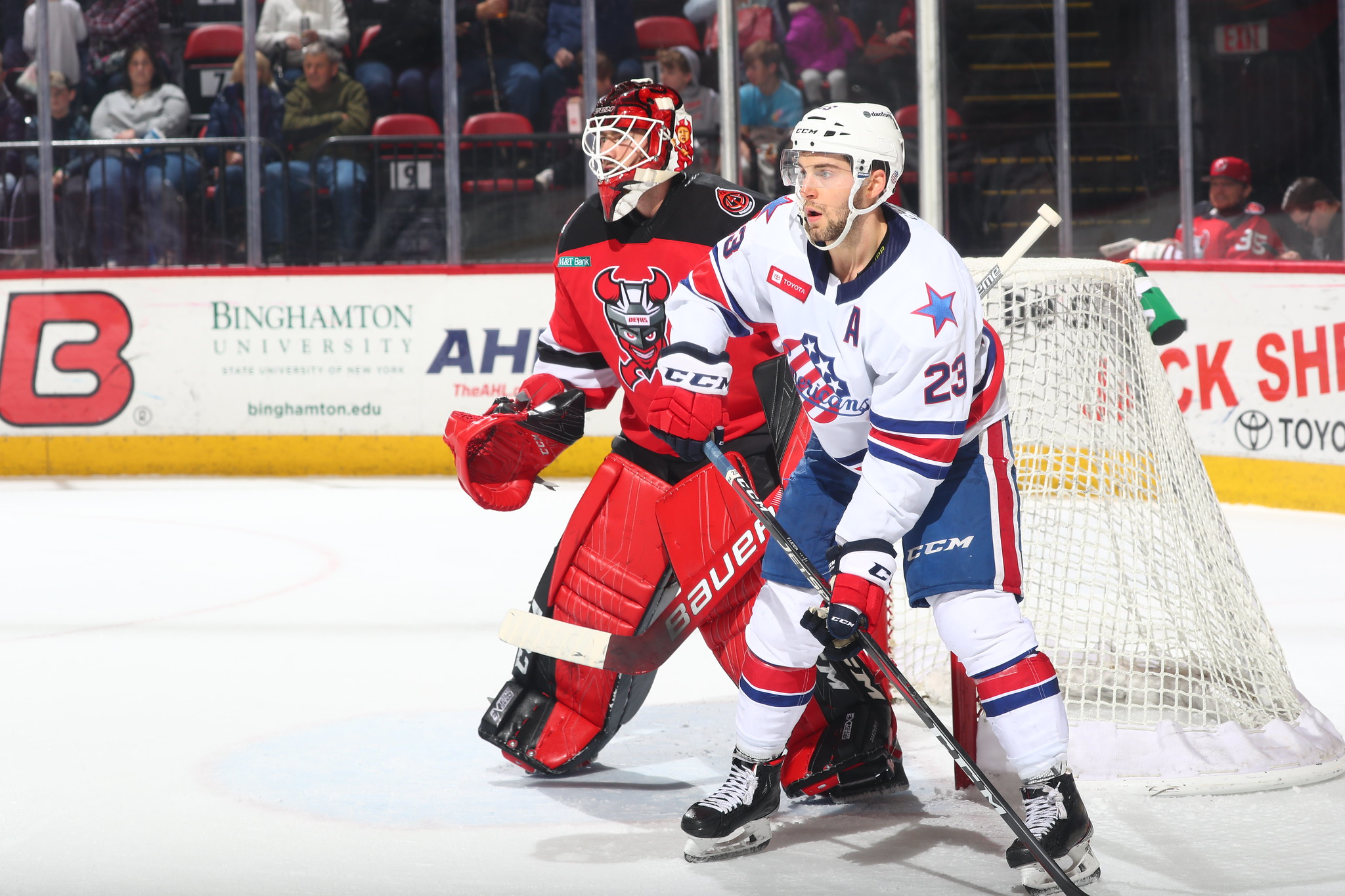 Recap: Amerks Shutout by Louise Domingue in Binghamton