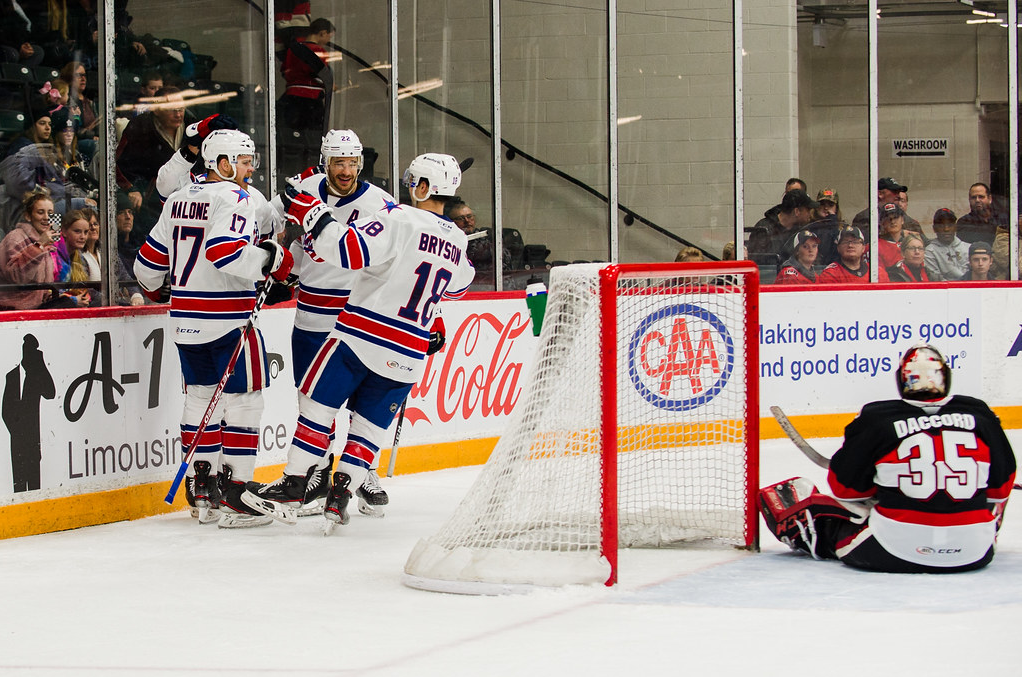 Recap: Amerks Win in OT with Four Different Goal Scorers