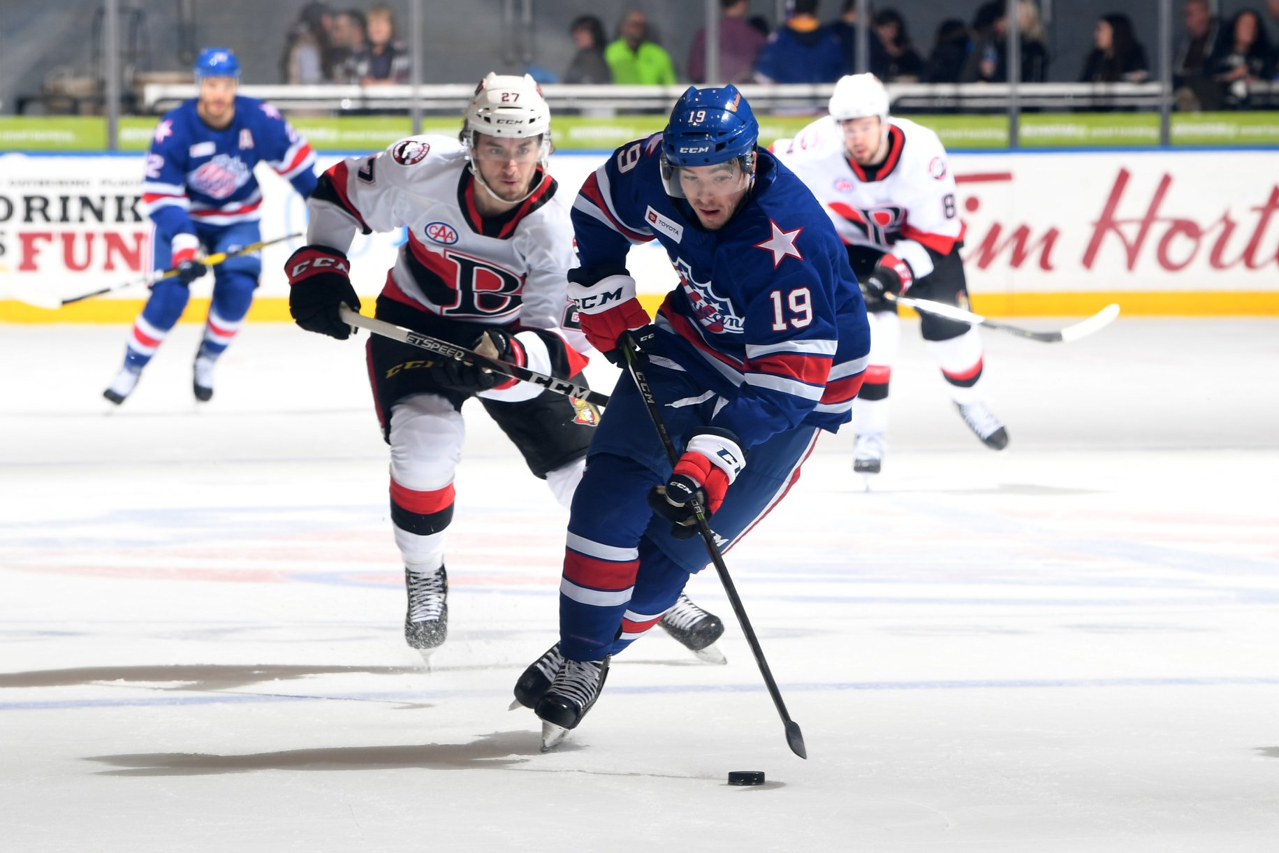 Recap: Amerks Panicked as Belleville Scored on Turnovers