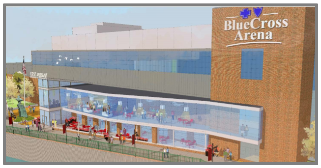City Requests Interest for Restaurant Operator at Blue Cross Arena